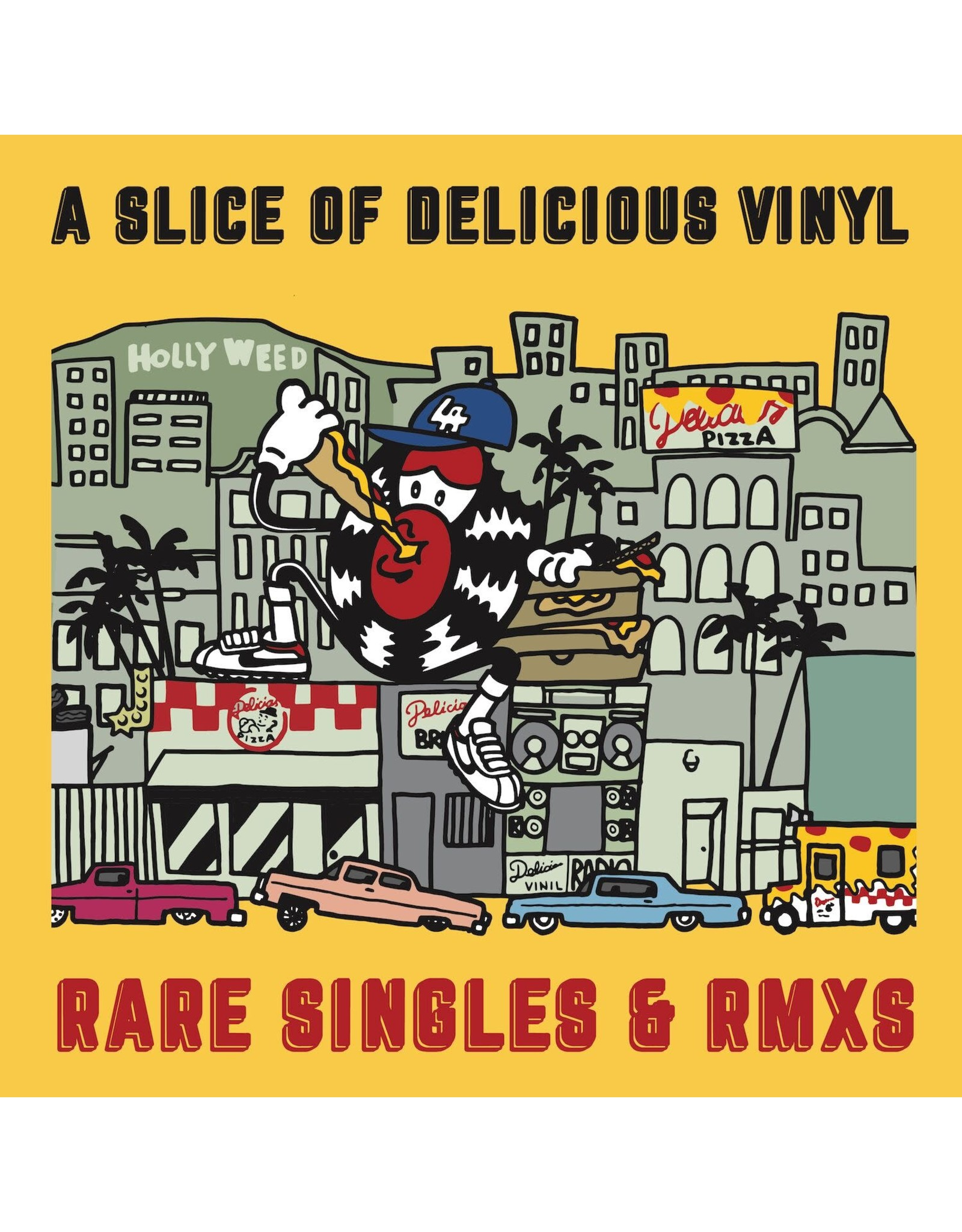 V/A - Delicious Vinyl's Best Kept Secrets (color vinyl) LP