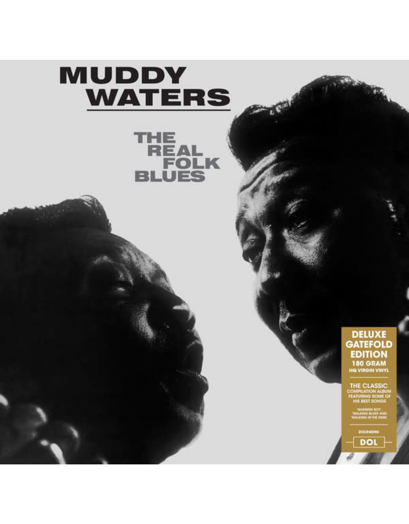 Waters, Muddy - The Real Folk Blues LP