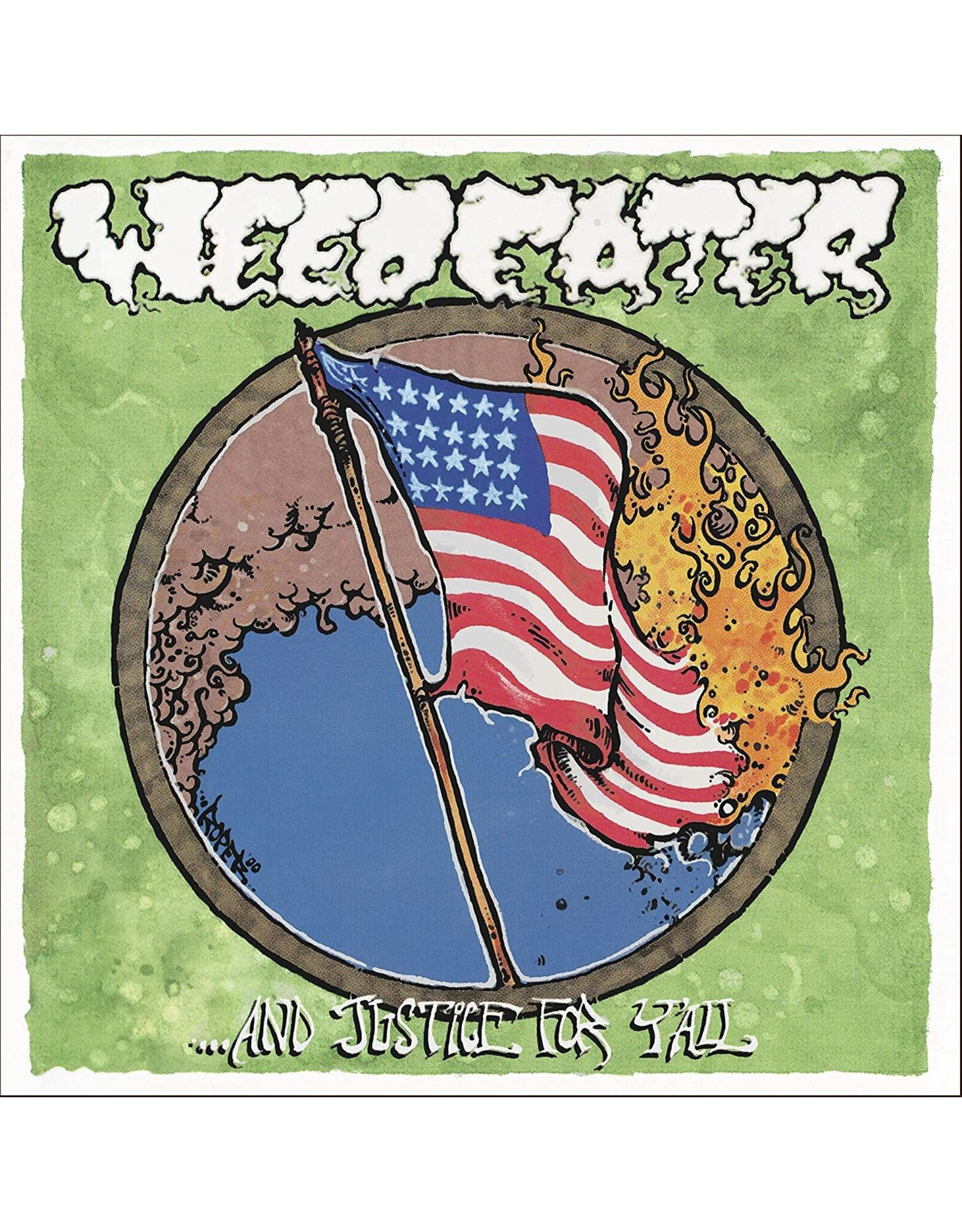 Weedeater - ...And Justice For Y'all Ltd Yellow LP