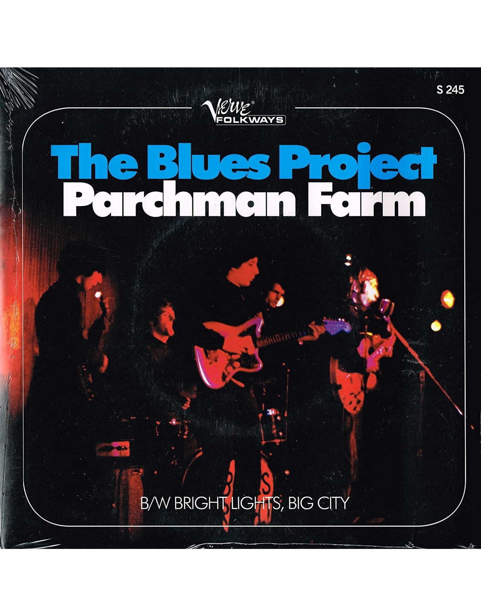 "Blues Project - Parchman Farm/Bright Lights, Big City 7"""