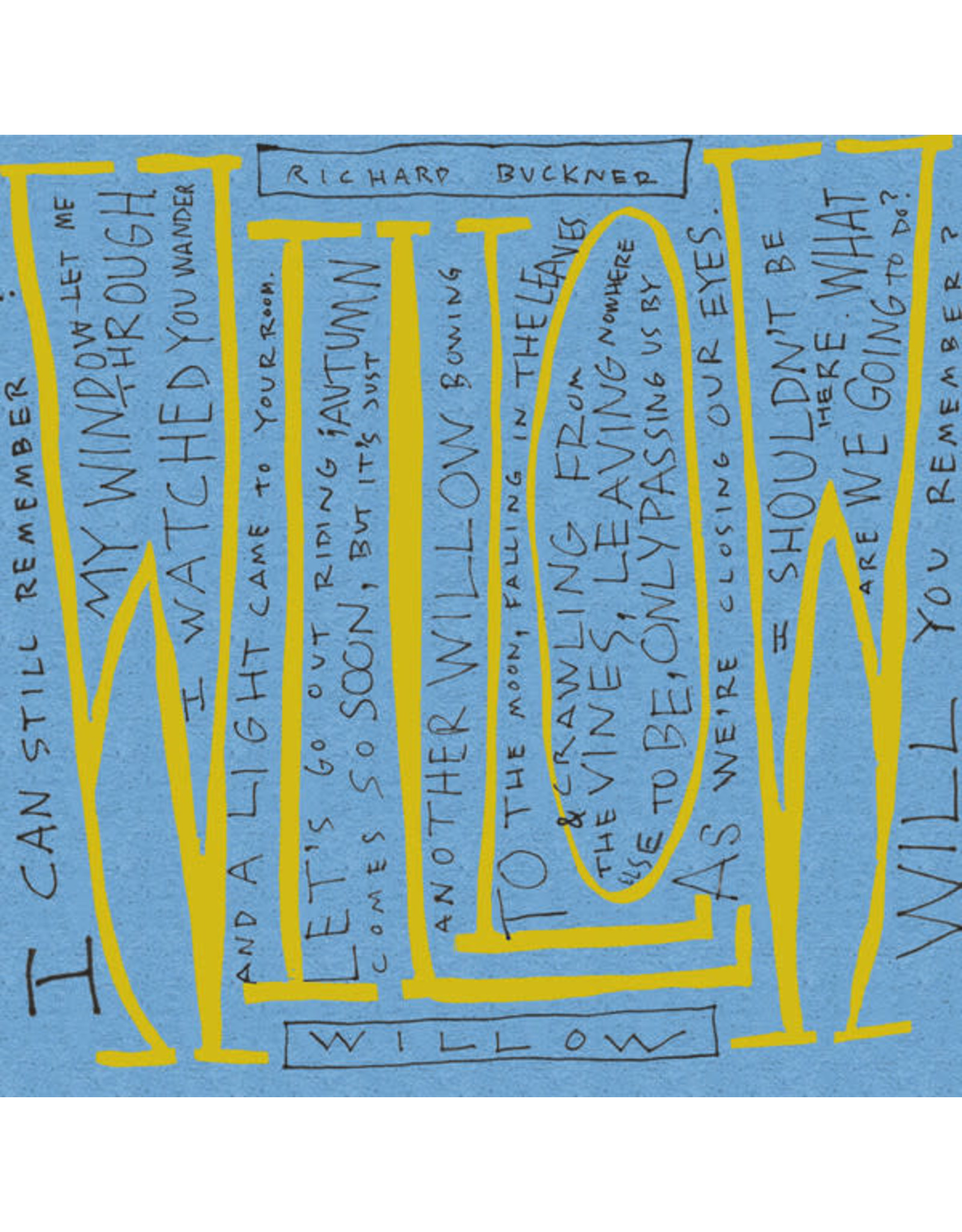 "Buckner, Richard - Willow/Lost 7"""