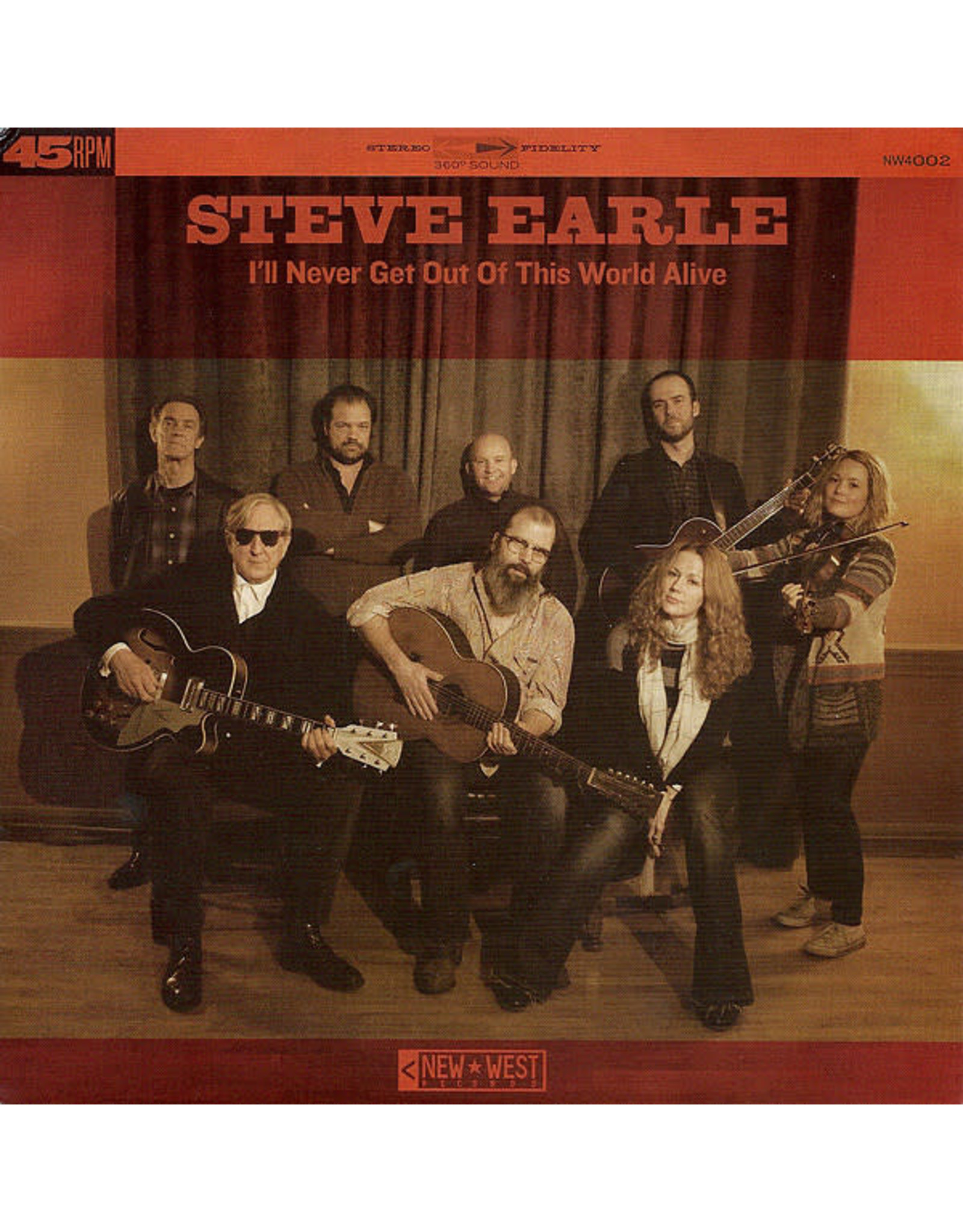 """Earle, Steve - I'll Never Get Out Of This World Alive/This City 7"""""""