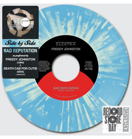 Freedy Johnston / Death Cab For Cutie ‎- Bad Reputation 7""