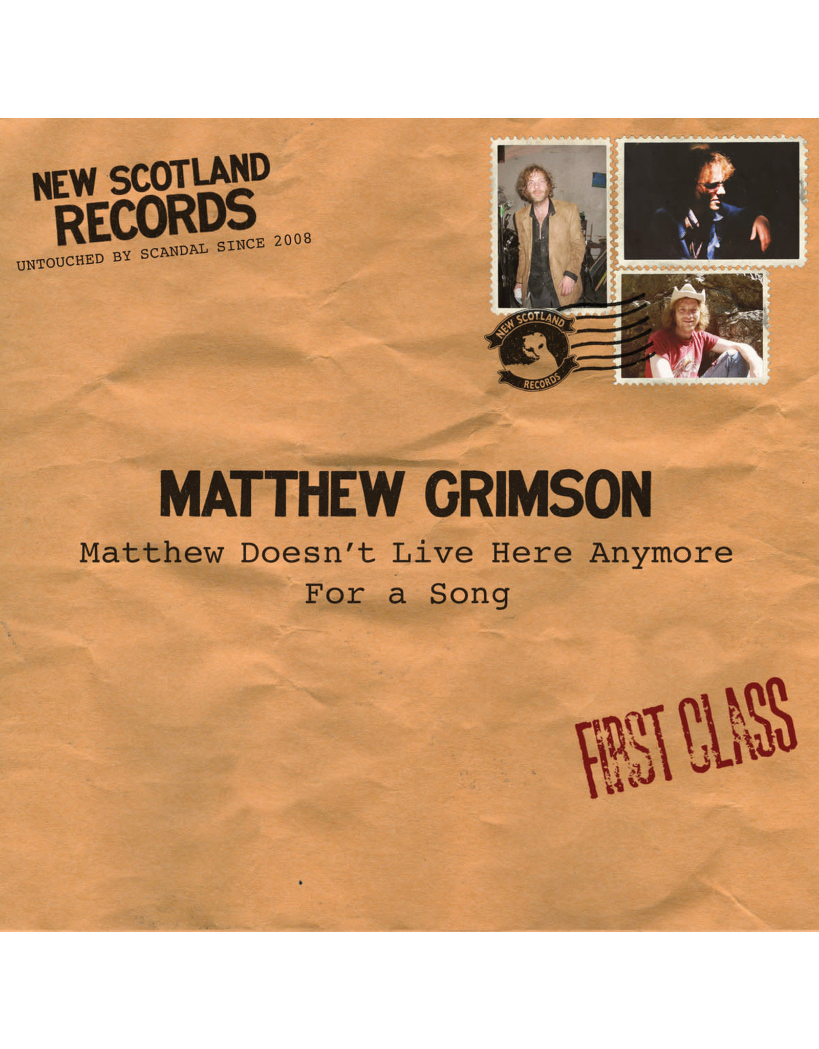 """Grimson, Matthew - Matthew Doesn't Live Here Anymore/For A Song 7"""""""