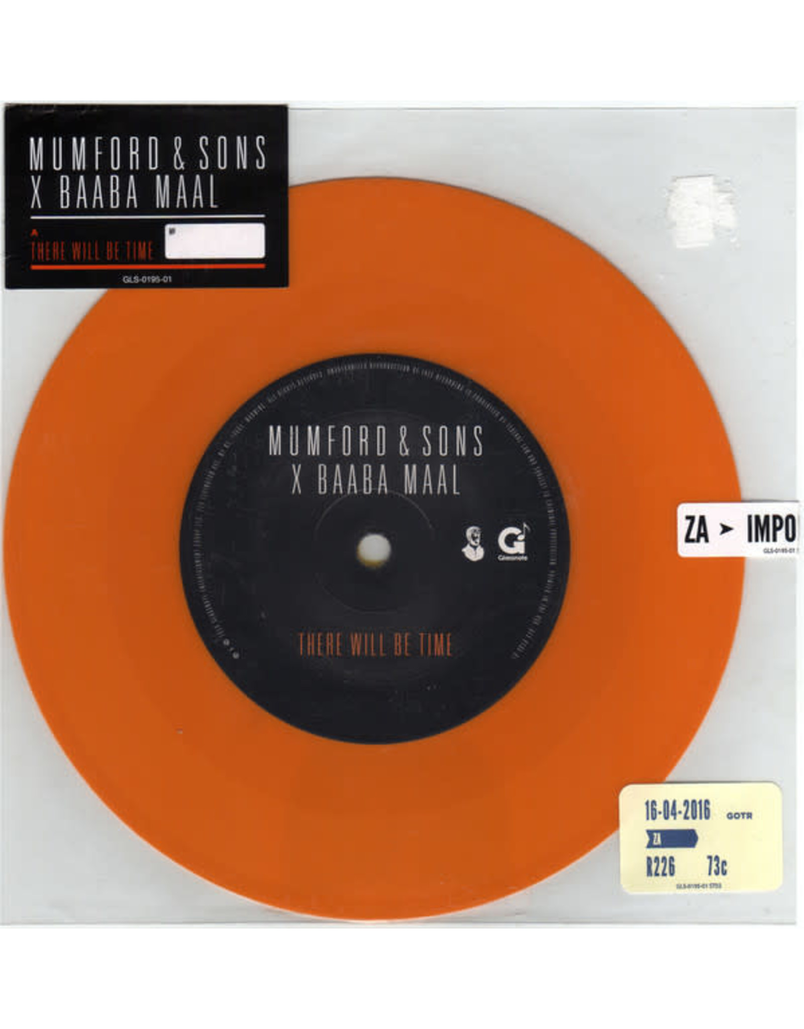 """Mumford & Sons & Baaba Maal - There Will Be Time 7"""""""