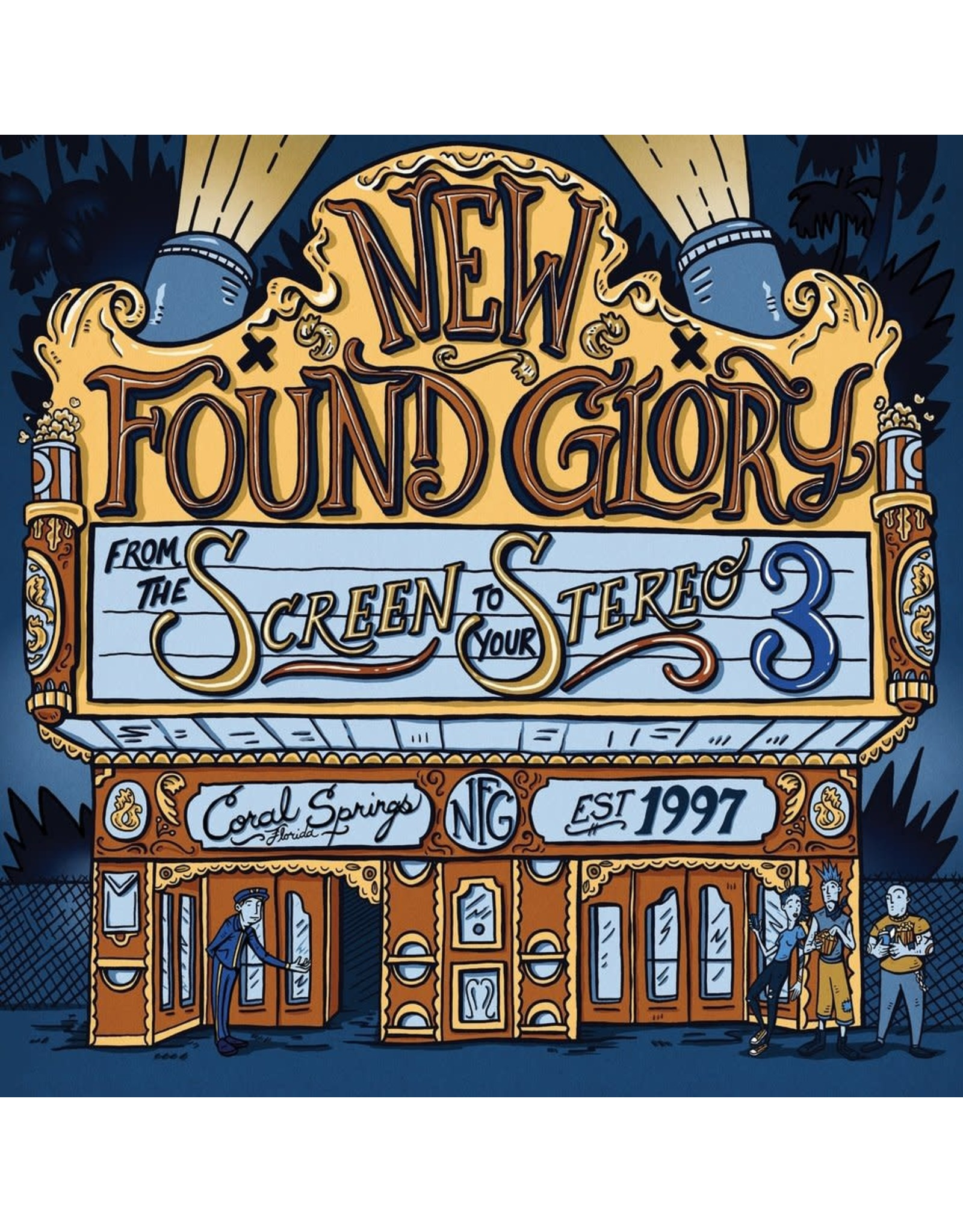 """New Found Glory - From The Screen To Your Stereo 3 10"""""""