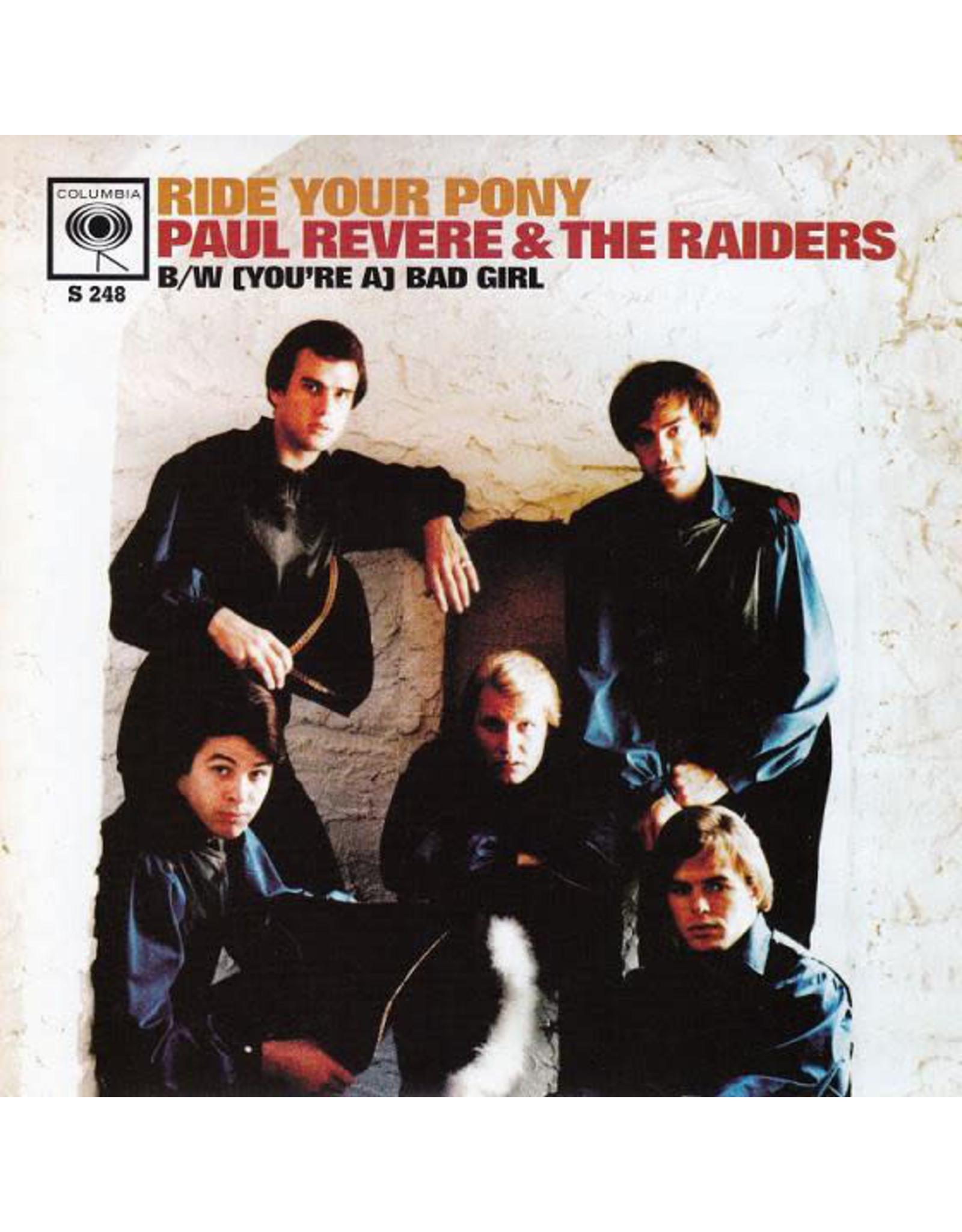 "Paul Revere & The Raiders - Ride Your Pony 7"""