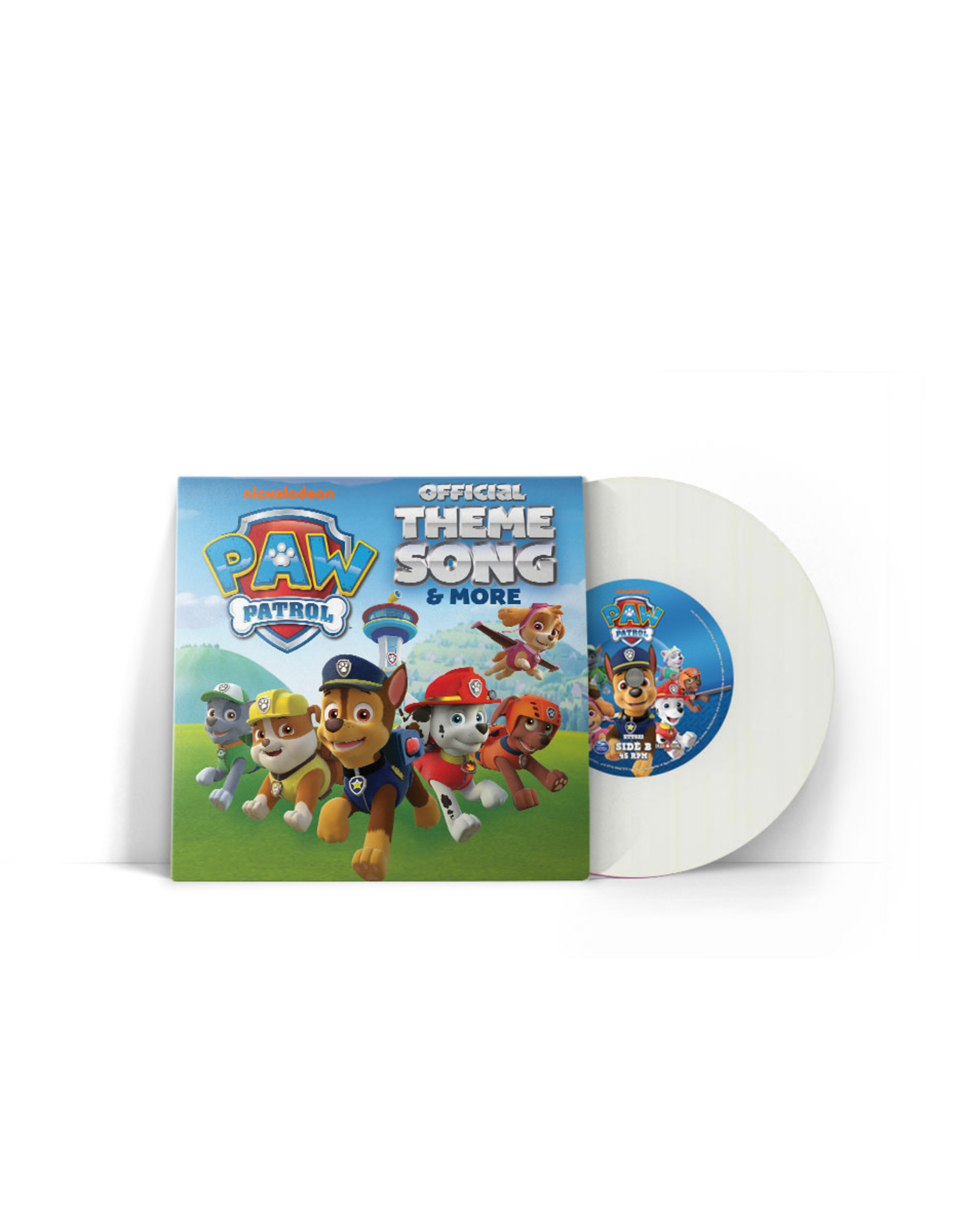 Paw Patrol - Official Theme Song & More 7""
