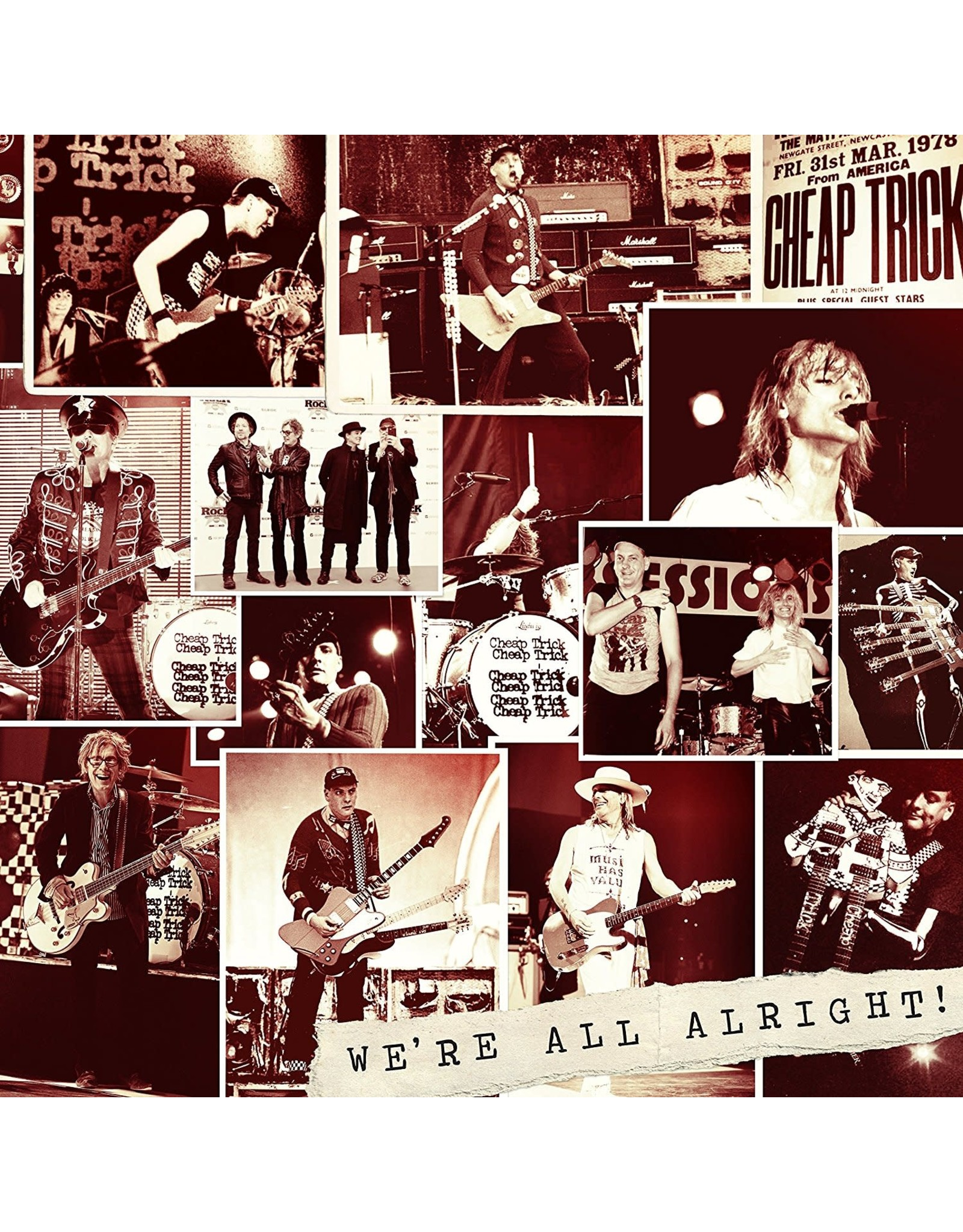 Cheap Trick - We're All Alright! (Dlx) CD