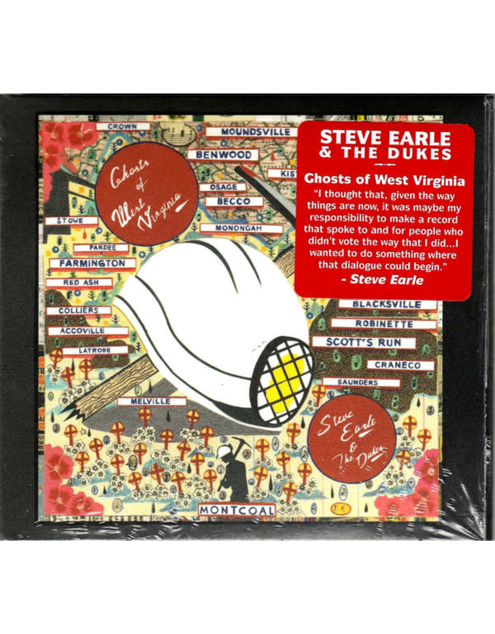 Earle, Steve - Ghosts of West Virginia CD