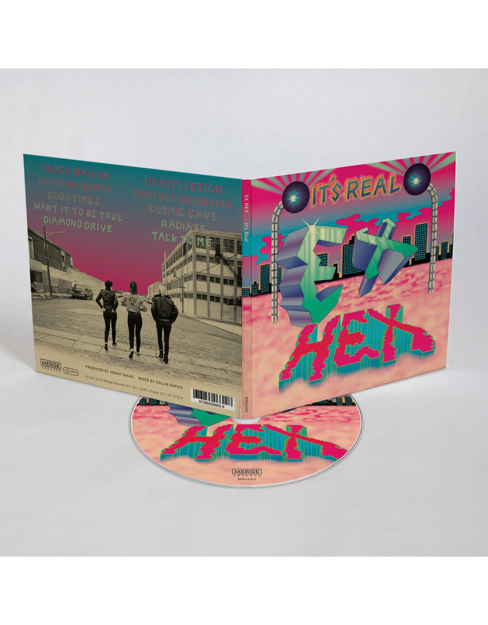 Ex Hex - It's Real CD