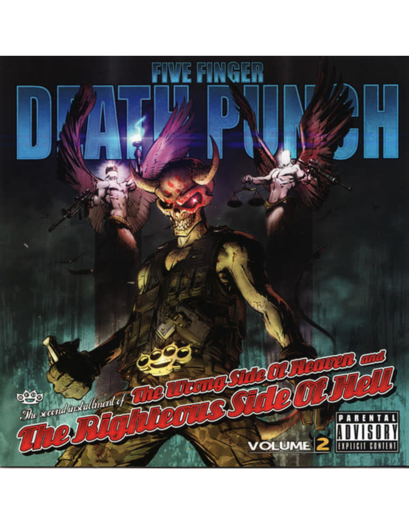 Five Finger Death Punch - The Wrong Side Of Heaven and the Righteous Side Of Hell CD