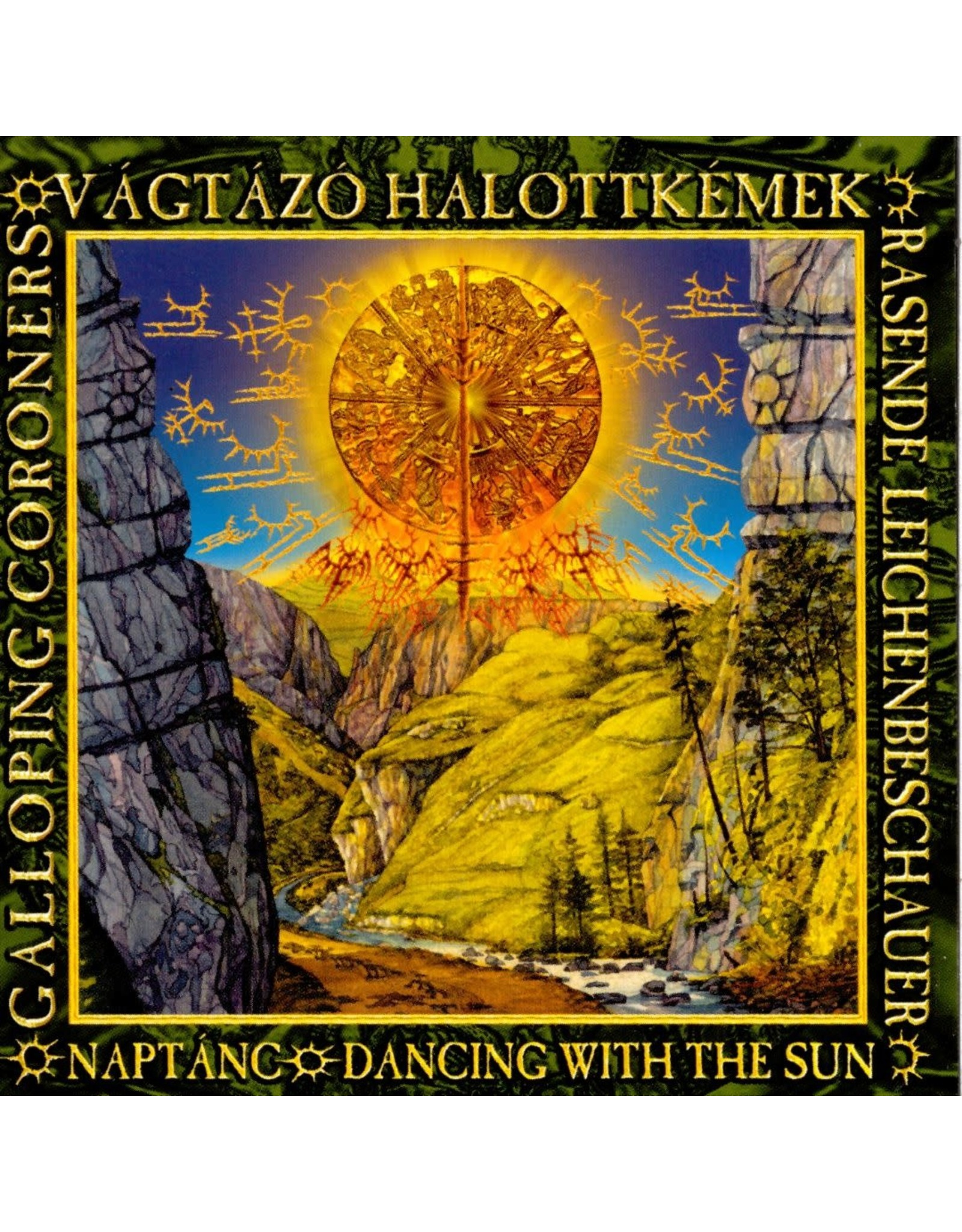 Galloping Coroners - Dancing With the Sun CD