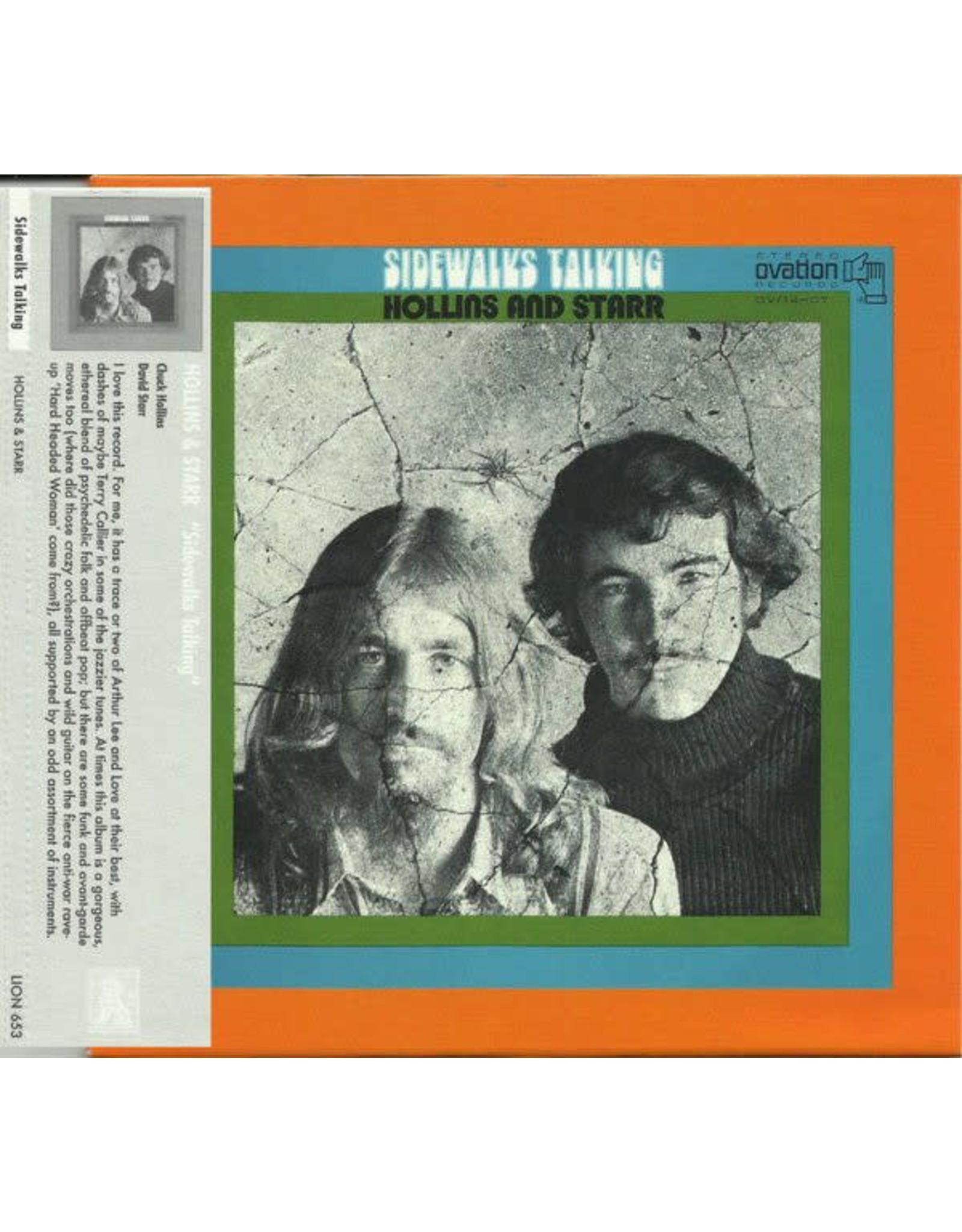 Hollins & Starr - Sidewalks Talking CD