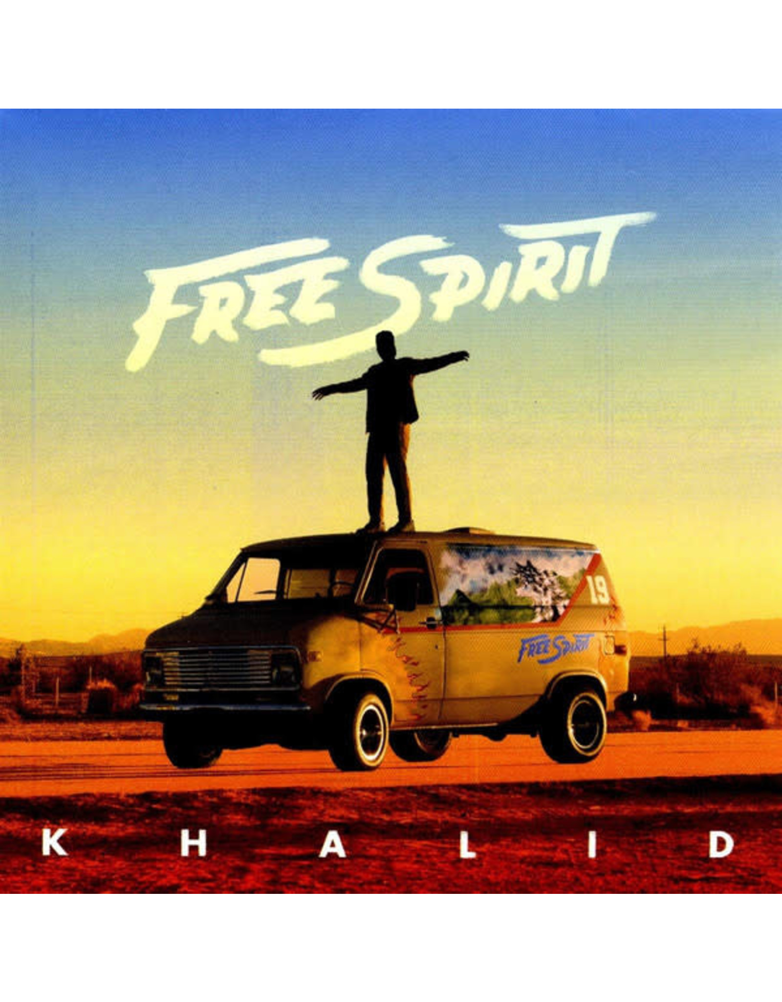 Khalid - Free Spirit CD