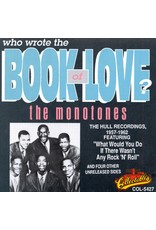 Monotones, The - Who Wrote the Book of Love? CD