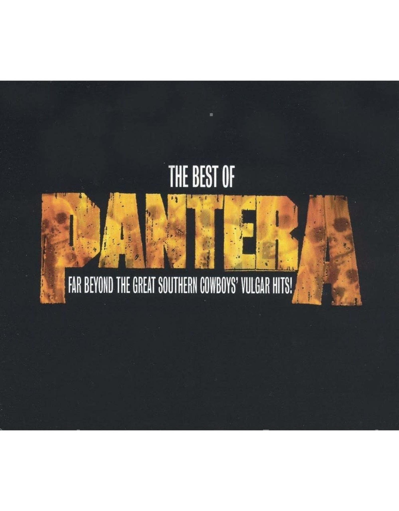 Pantera - The Best Of: Far Beyond the Great Southern Cowboys' Vulgar Hits! CD