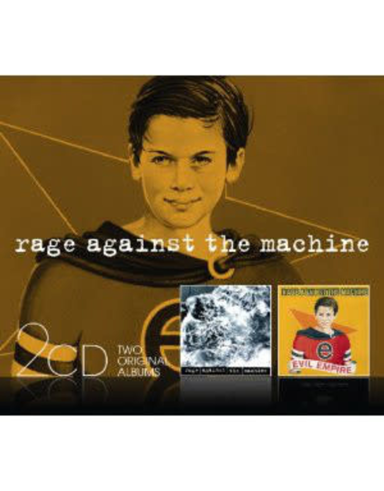 Rage Against the Machine - Rage Against the Machine/Evil Empire CD