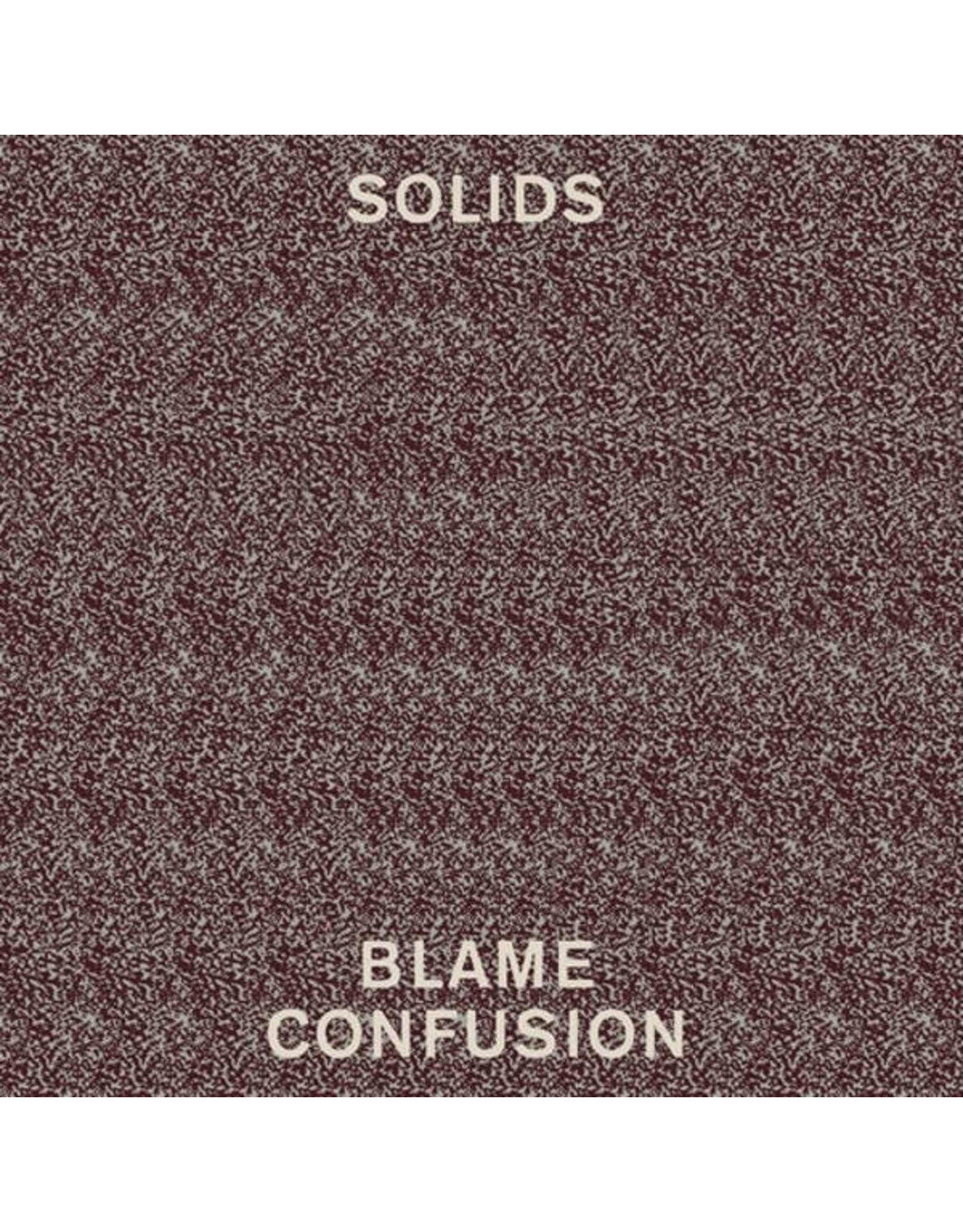 Solids - Blame Confusion CD