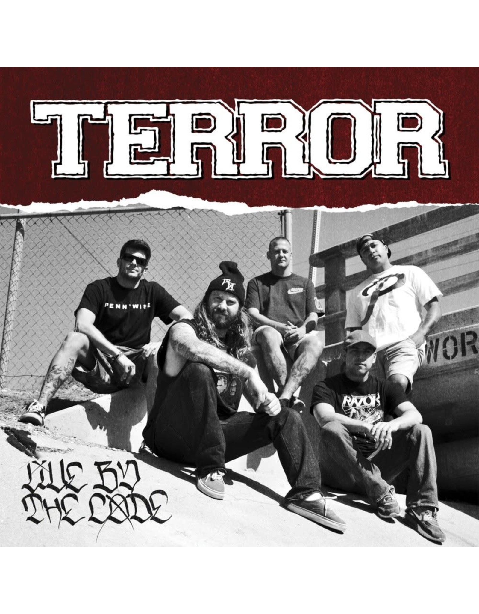 Terror - Live By the Code CD