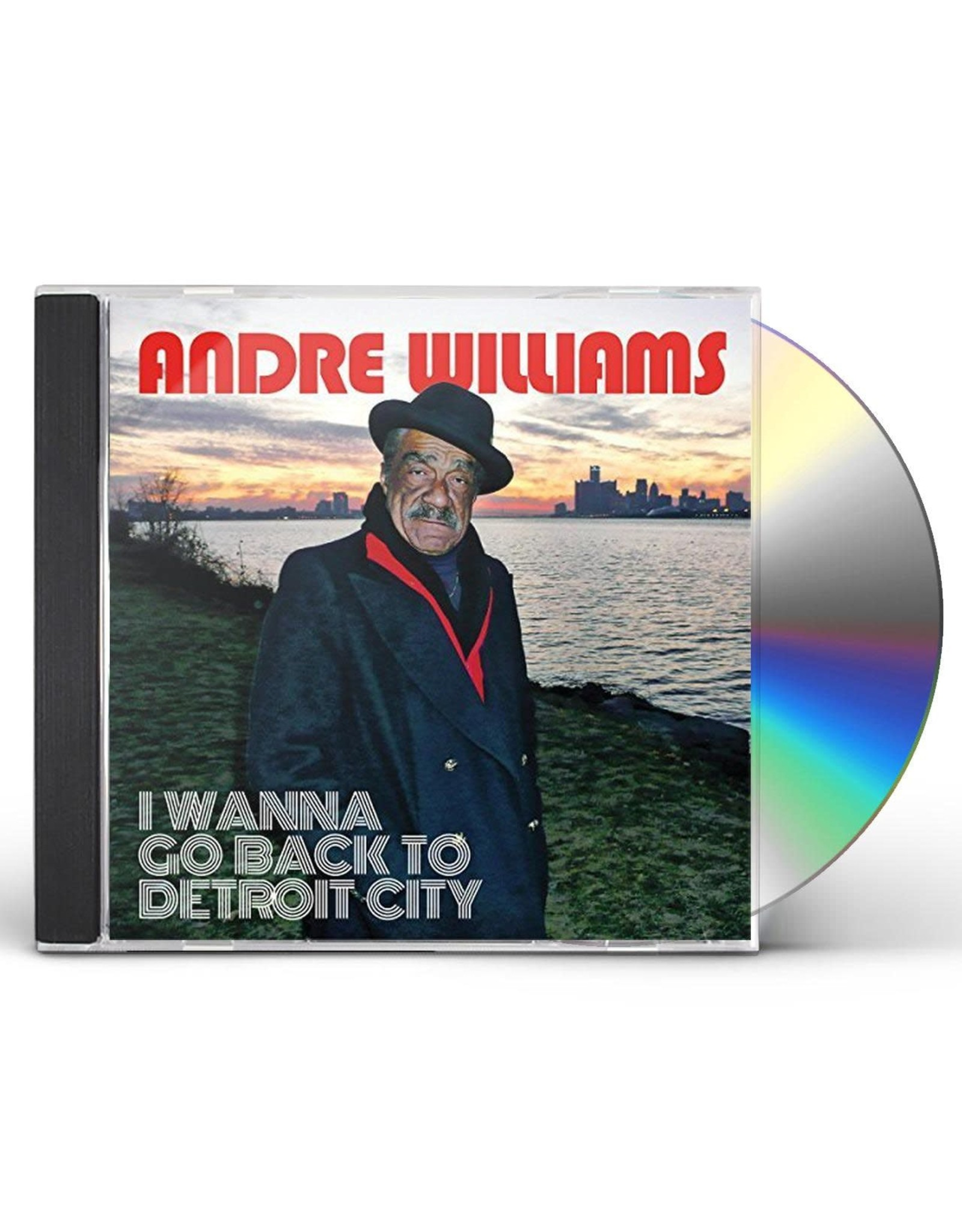 Williams, Andre - I Wanna Go Back to Detroit City CD