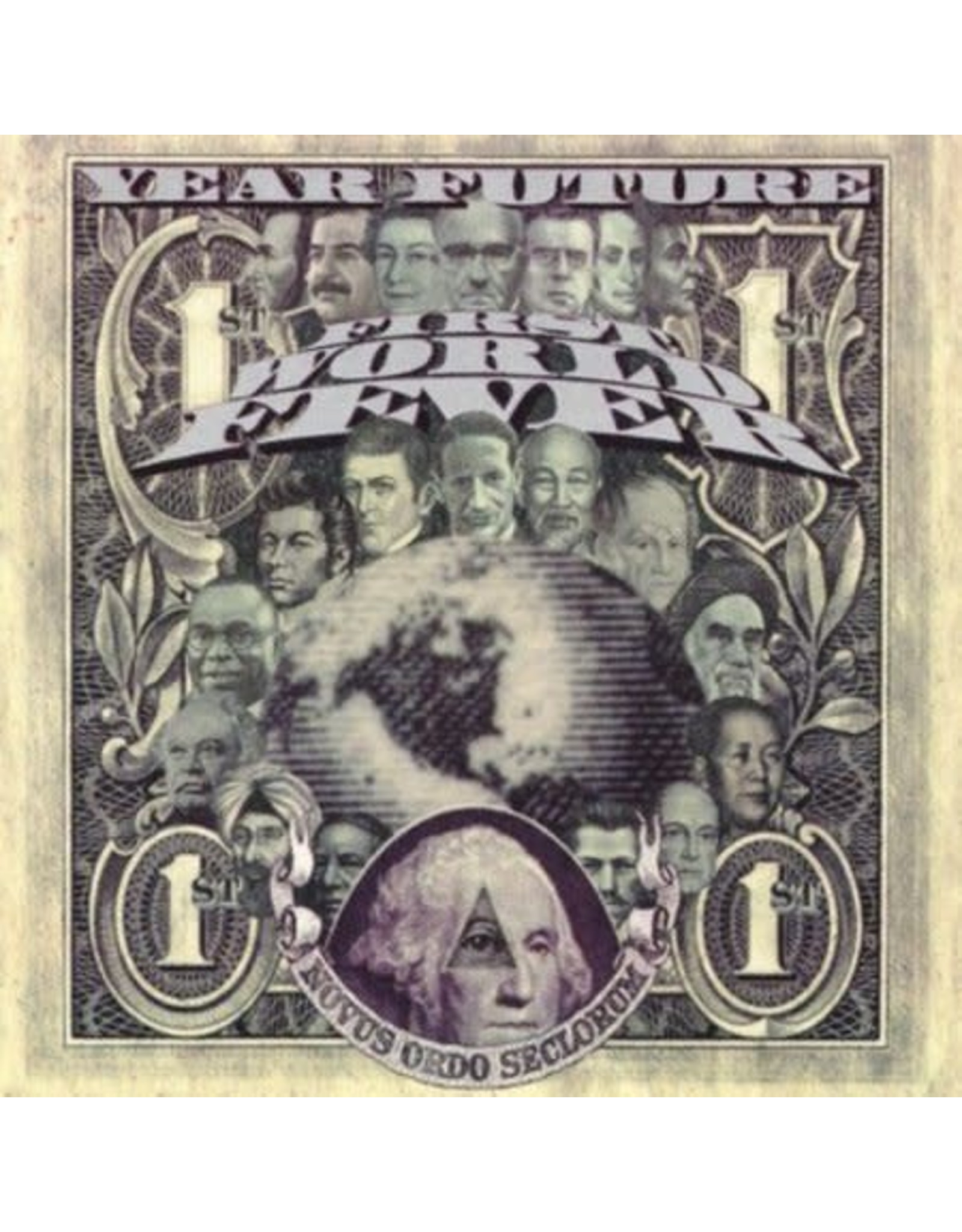 Year Future - First World Fever CD