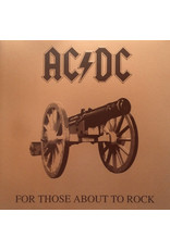 AC/DC - For Those About To Rock We Salute You LP (Embossed Gatefold)