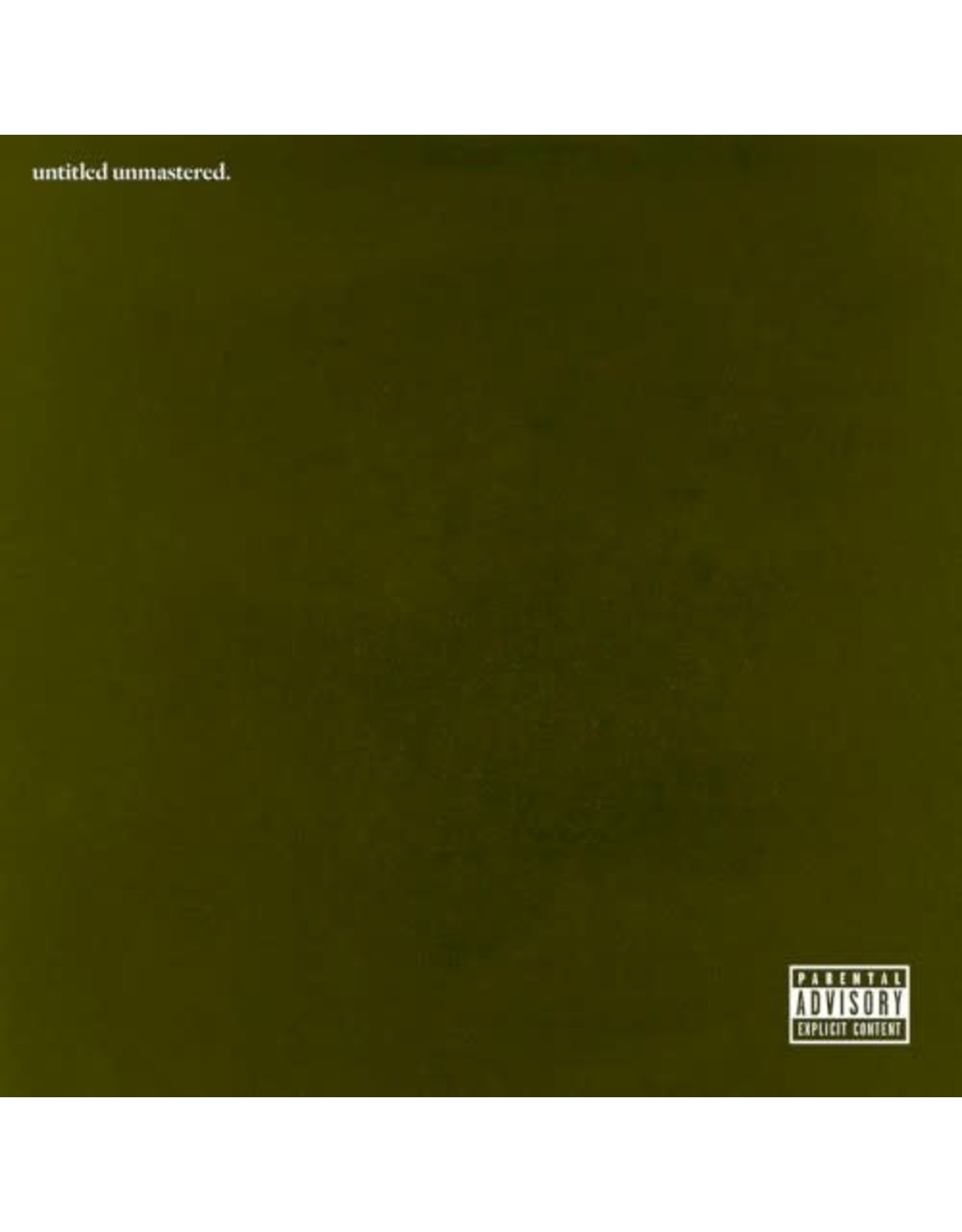 Lamar, Kendrick - untitled unmastered LP