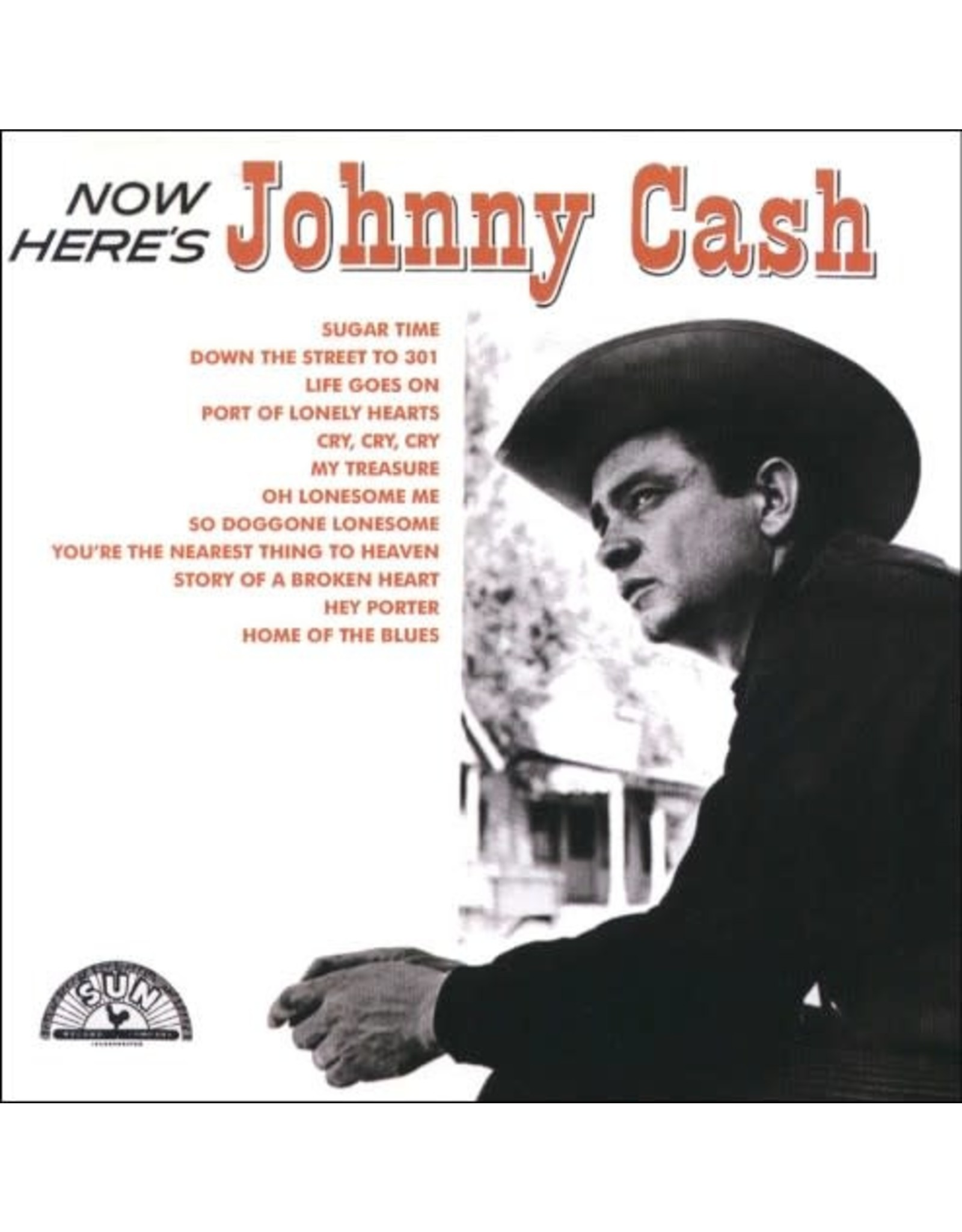 Cash, Johnny - Now Here's Johnny Cash (red vinyl) LP
