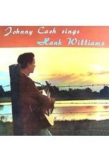 Cash, Johnny - Sings Hank Williams & Other Favorite Tunes (sunset orange vinyl) LP