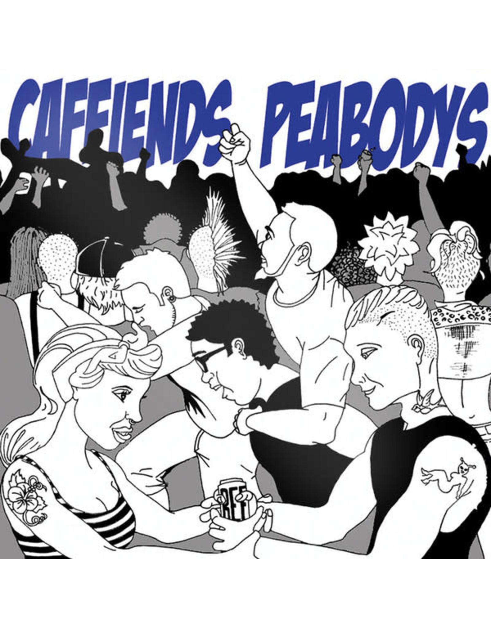 Caffiends/Peabodys - Split LP