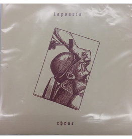 "Lapsaria-Throe 7"" (Ltd. Lathe-Cut)"