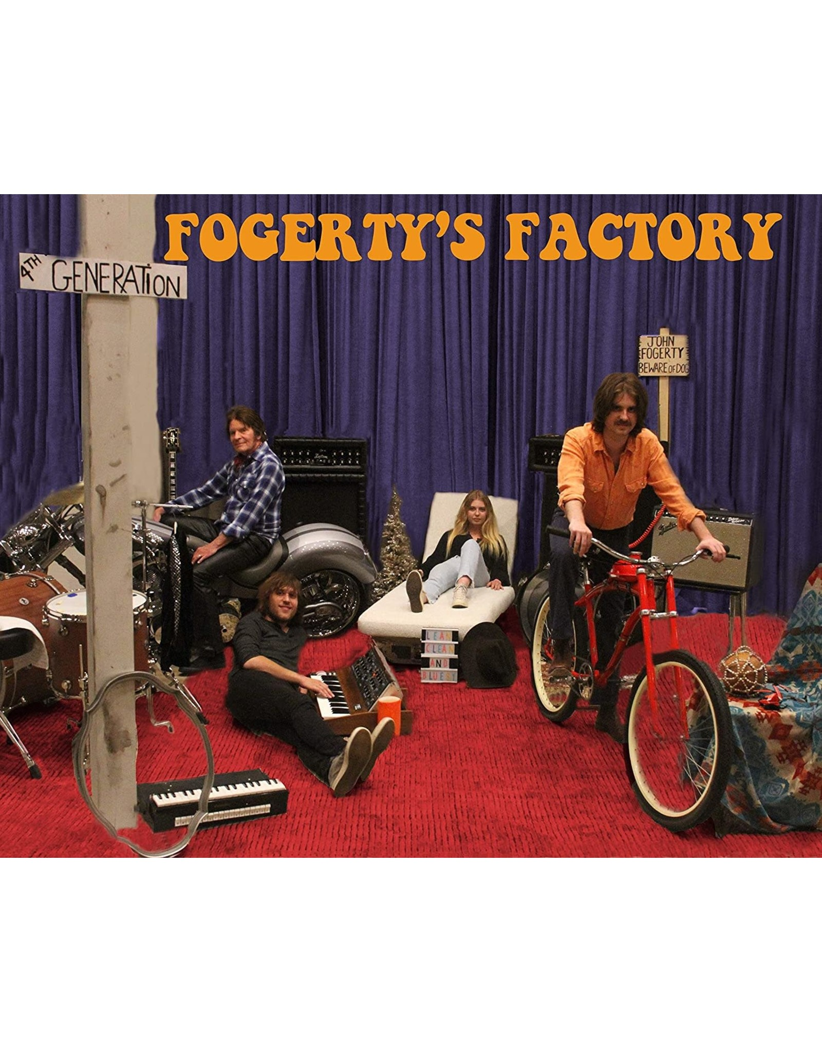 Fogerty, John - Fogerty's Factory LP