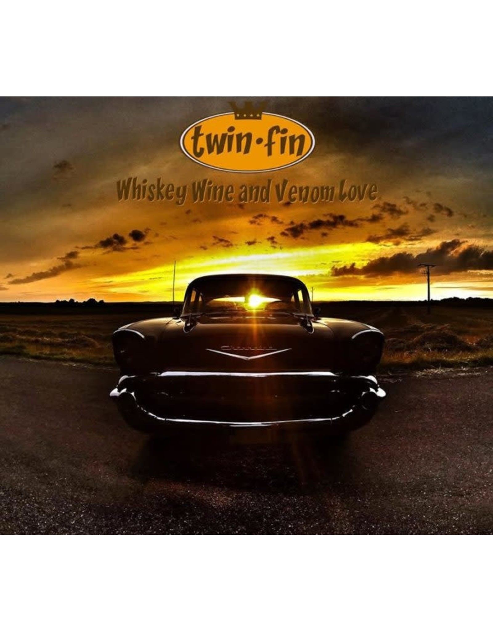 Twin Fin - Whiskey, Wine and Venom Love LP