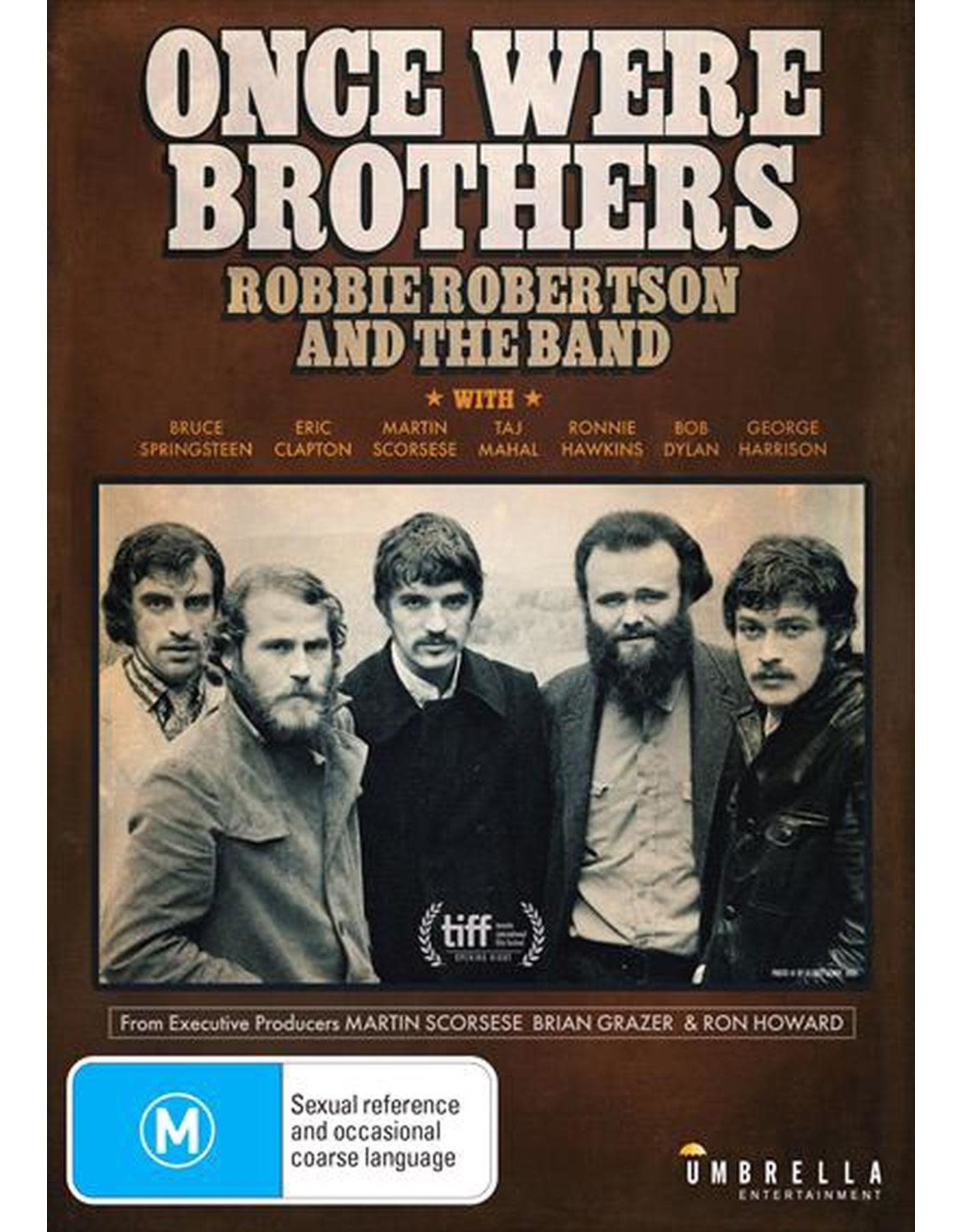 Robbie Robertson: Once We Were Brothers DVD