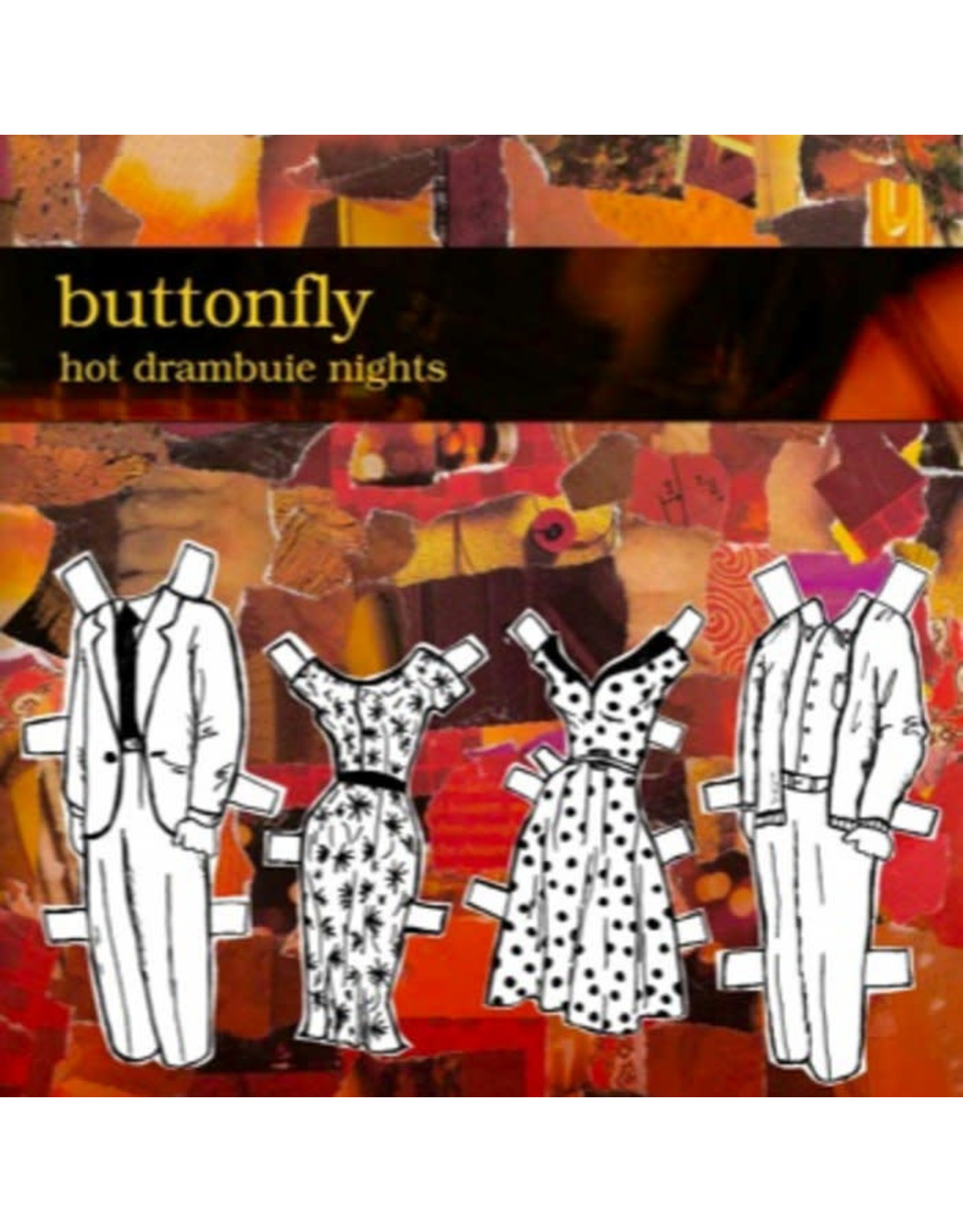 Buttonfly - Hot Drambuie Nights CD