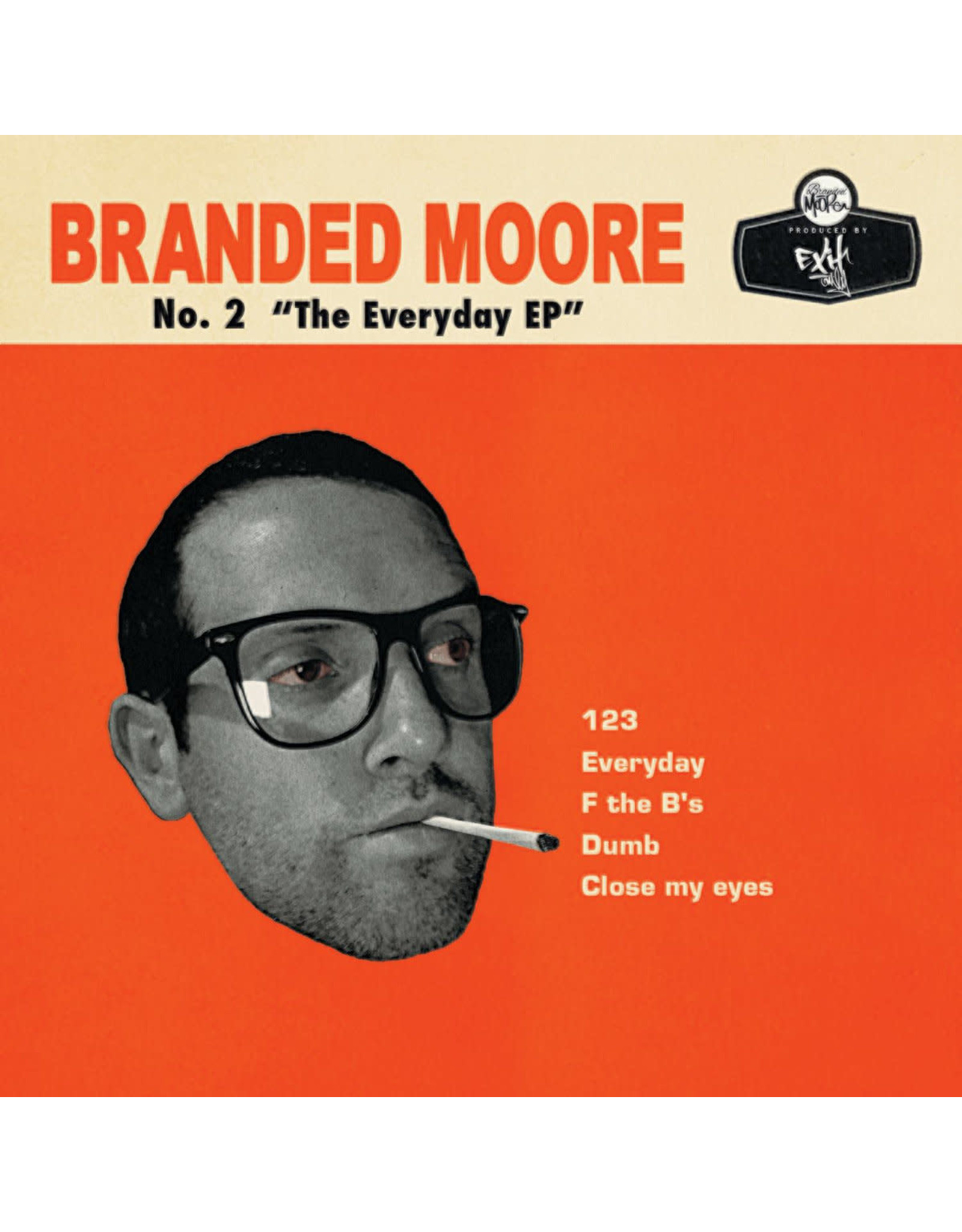 """Branded Moore - No. 2 """"The Everyday EP"""" CD"""