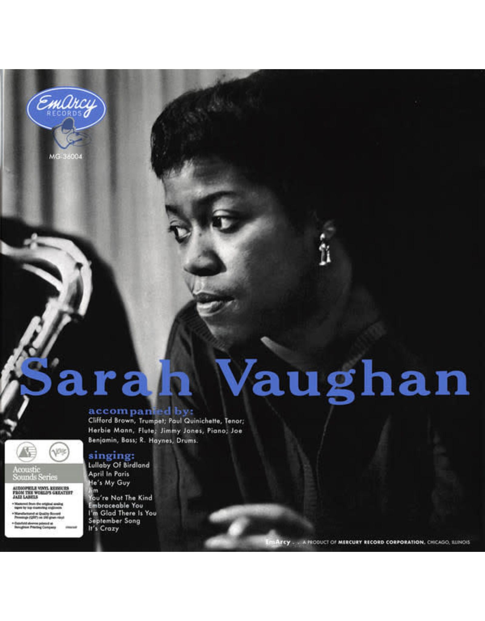 Vaughan, Sarah & Brown, Clifford - Sarah Vaughan (Acoustic Sounds Series) LPan (