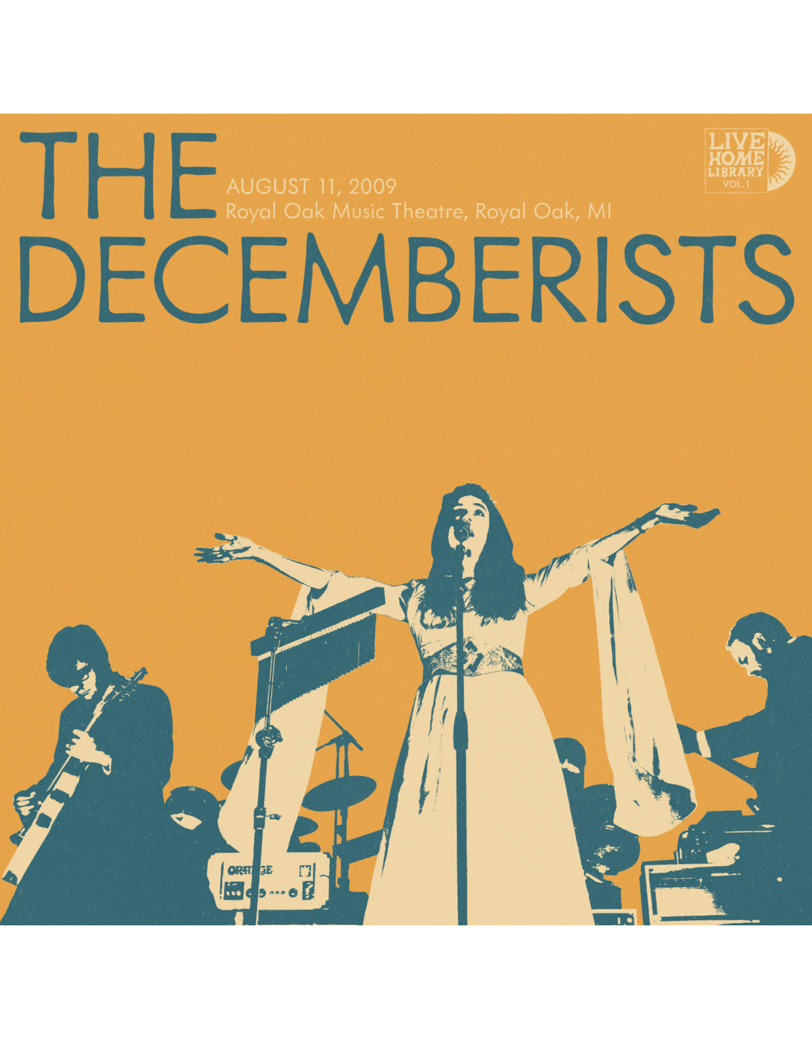 Decemberists - Live Home Library Vol. 1: 8-11-09 Royal Oak, MI 2LP