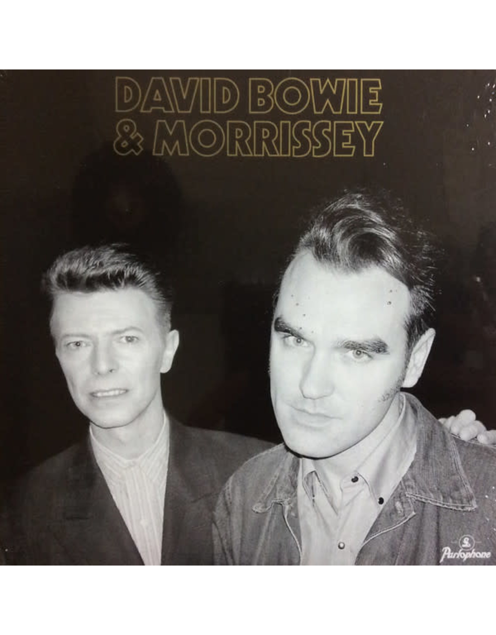 "Bowie, David & Morrissey - Cosmic Dancer (Live) 7"""