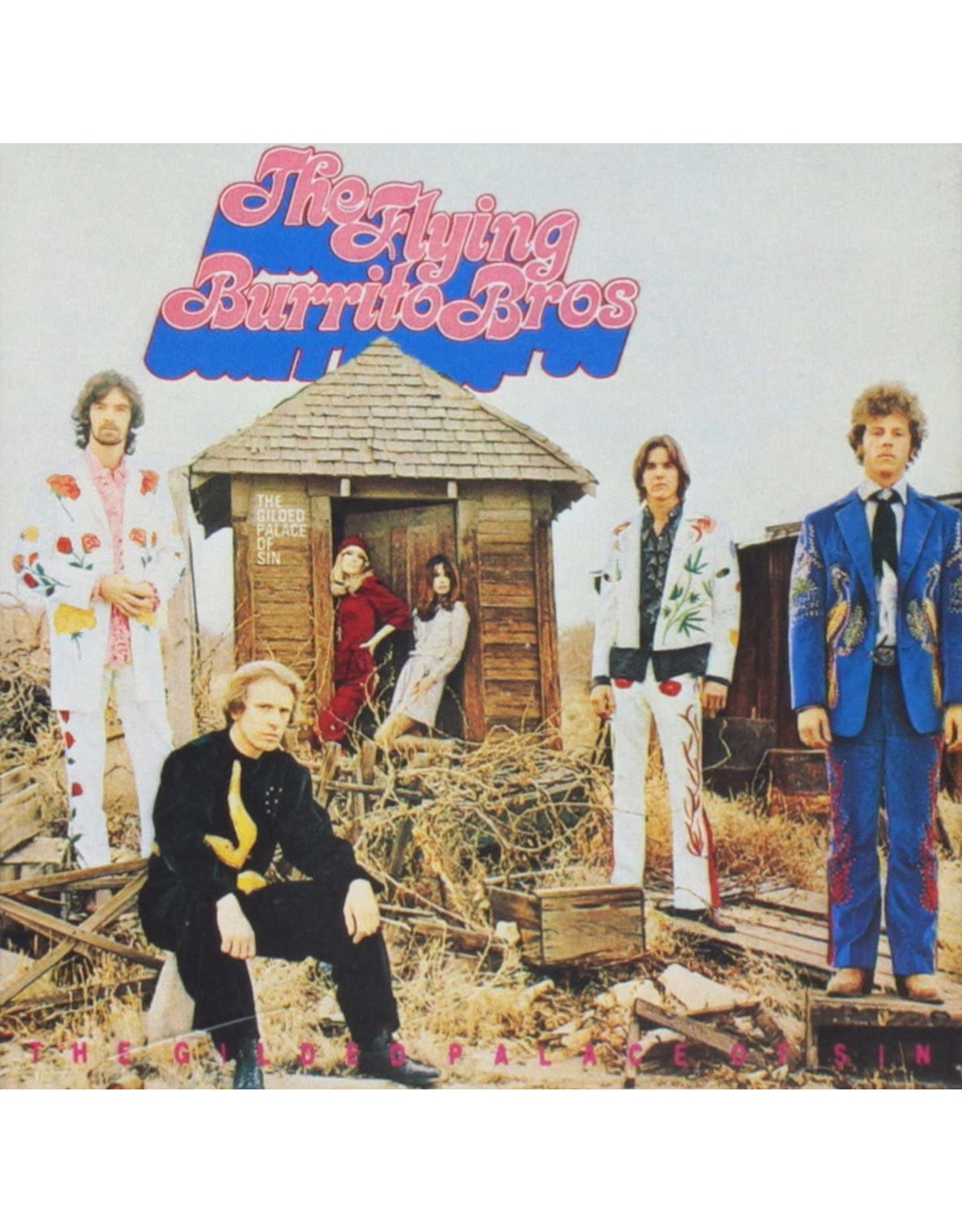 Flying Burrito Brothers - Guilded Palace Of Sin LP