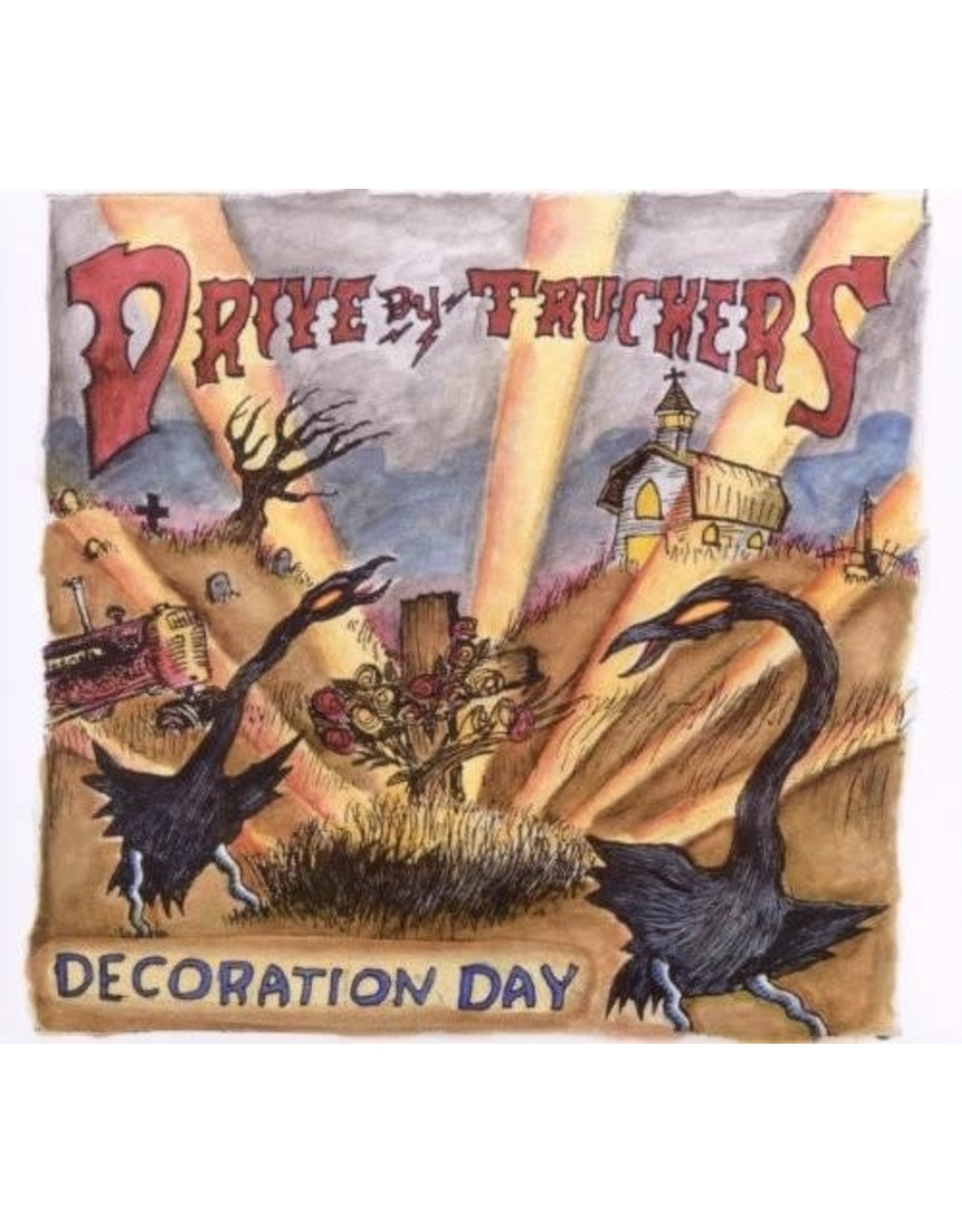 Drive-By Truckers - Decoration Day 2LP (coloured)