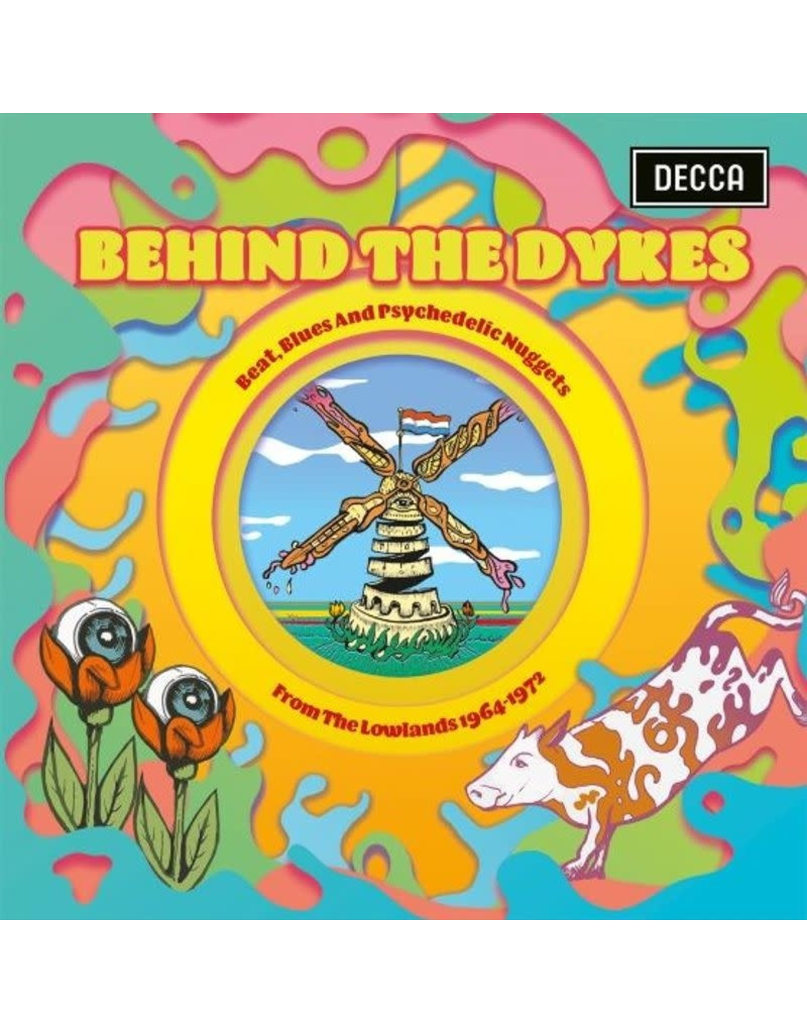 Various Artists - Behind the Dykes: Psychedelic Nuggets 1964-1972 (2020RSD/Ltd. 3000/Coloured Vinyl) LP