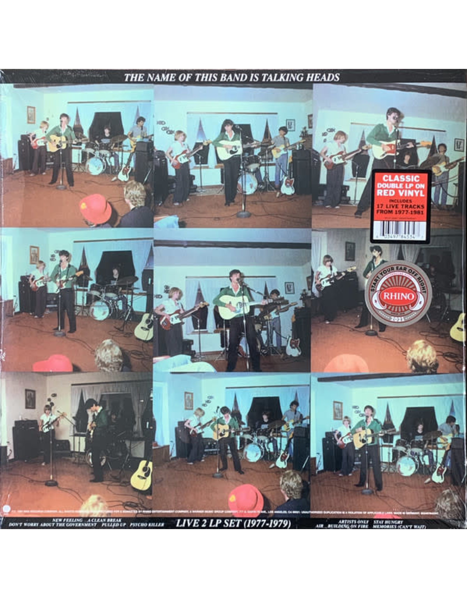 Talking Heads - The Name of the Band is Talking Heads (Red 2LP)