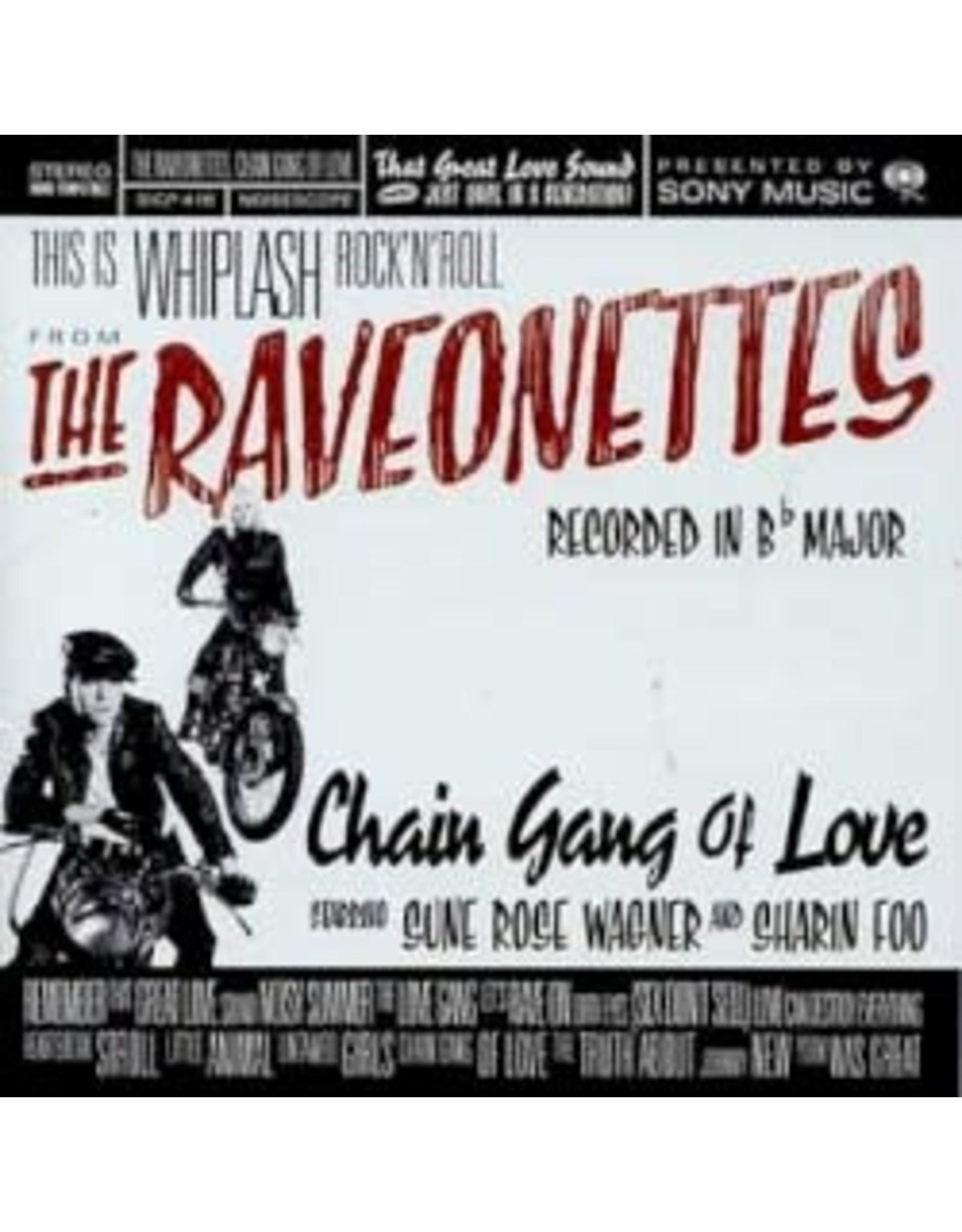 Raveonettes - Chain Gang Of Love LP (Music On Vinyl - Ltd Red Vinyl)