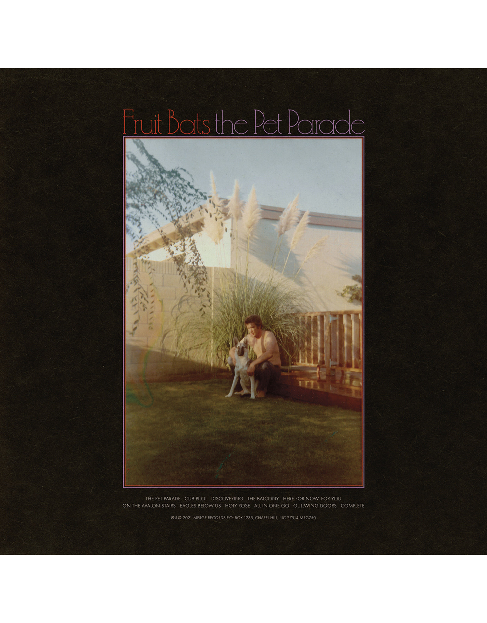 Fruit Bats - The Pet Parade LP