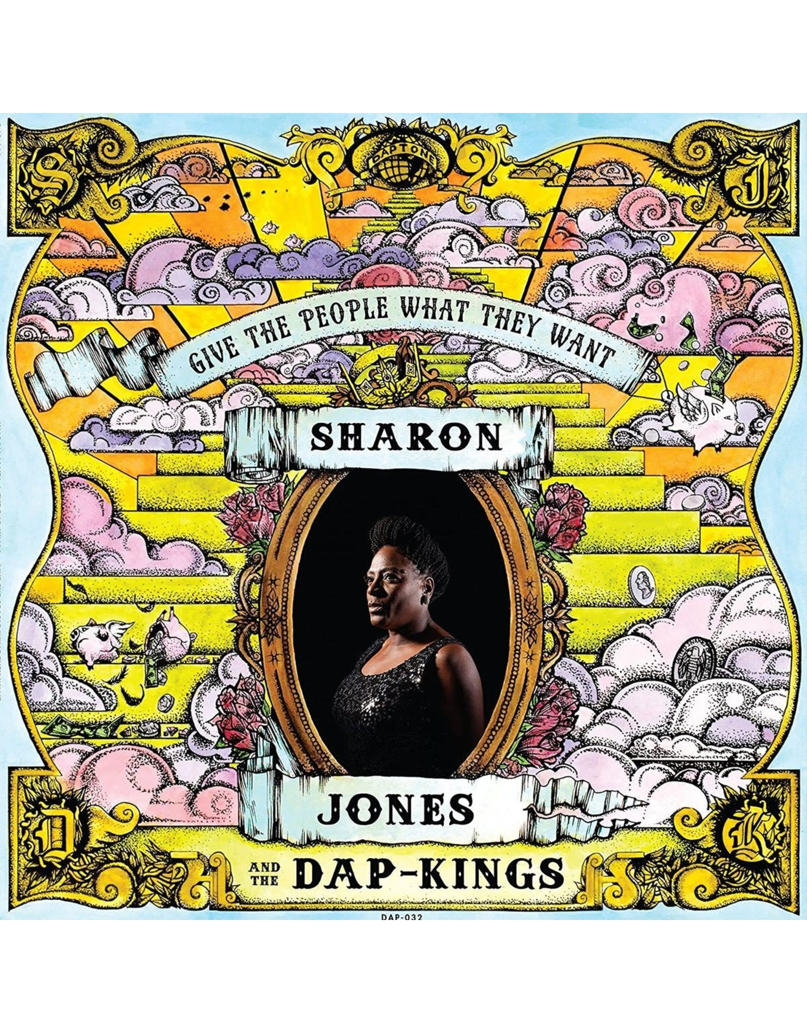 Jones, Sharon - Give the People What They Want LP
