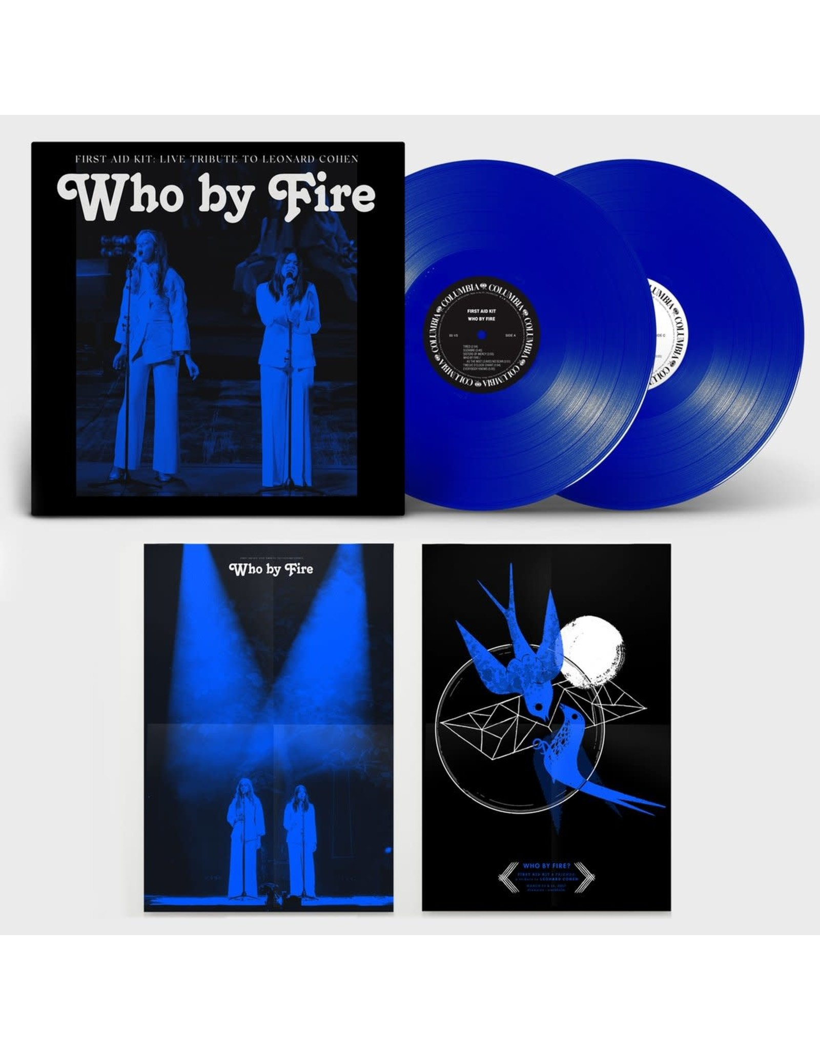 First Aid Kit - Who by Fire (Live Tribute to Leonard Cohen) 2LP (blue)