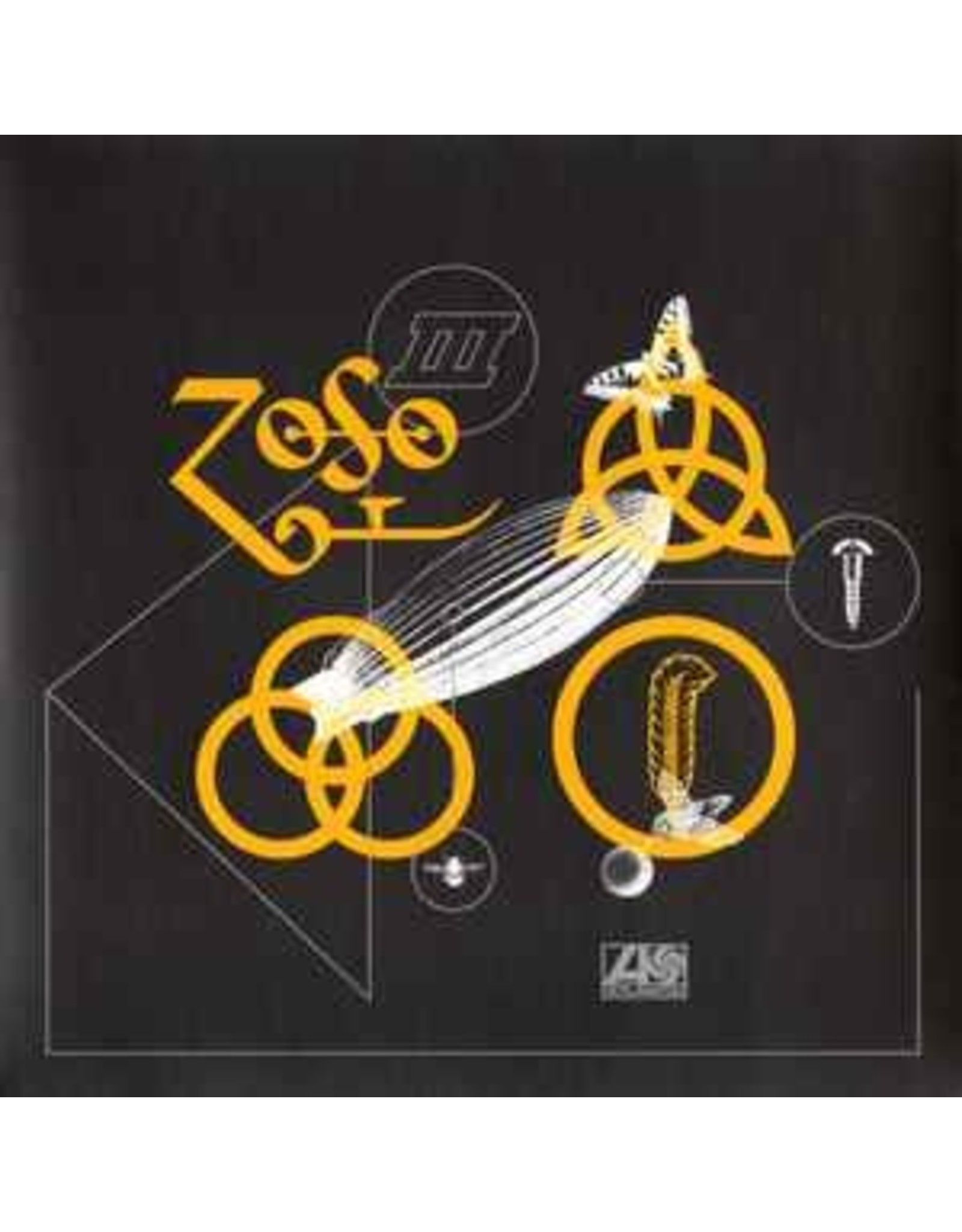 """Led Zeppelin - Rock N Roll (Sunset Sound Mix)  yellow 7"""""""