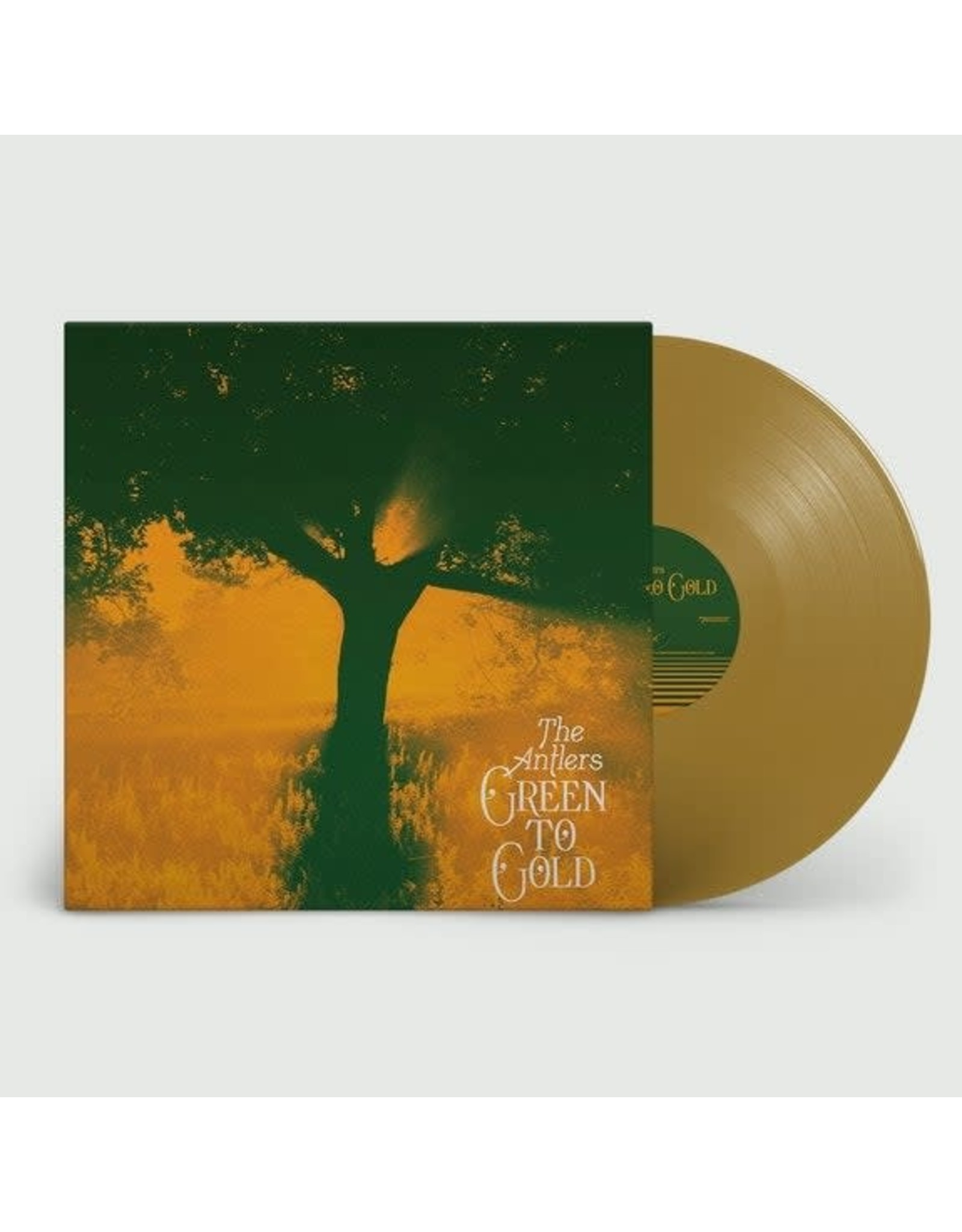 Antlers - Green to Gold LP (Tan Vinyl)